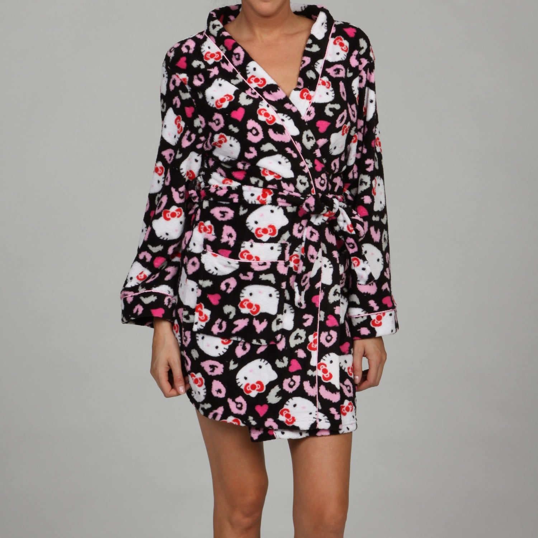 fcf0b0677 Shop Hello Kitty Women S Print Kimono Robe Free Shipping On Orders