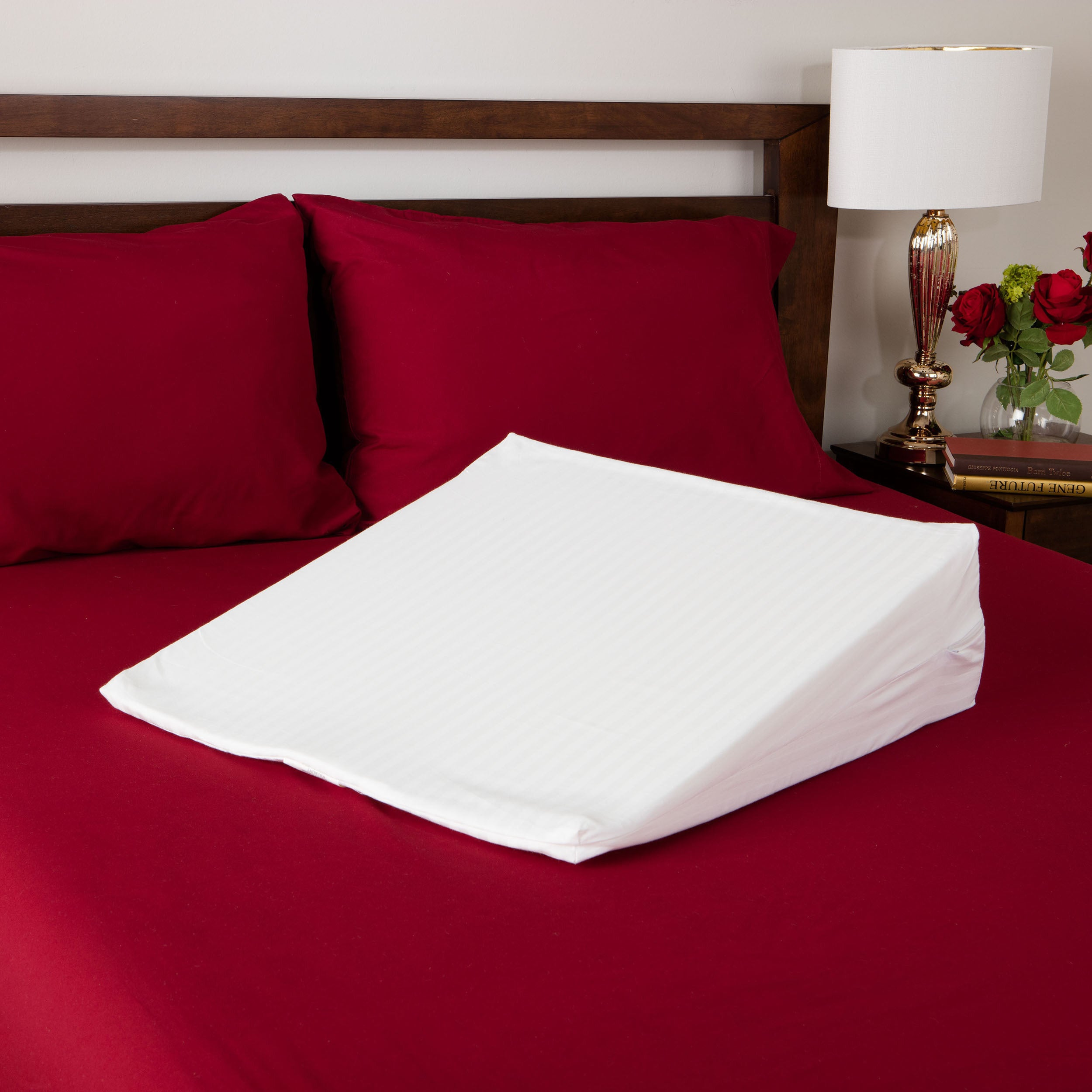 Shop splendorest visco elastic memory foam extra firm support bed wedge pillow on sale free shipping today overstock com 5901993