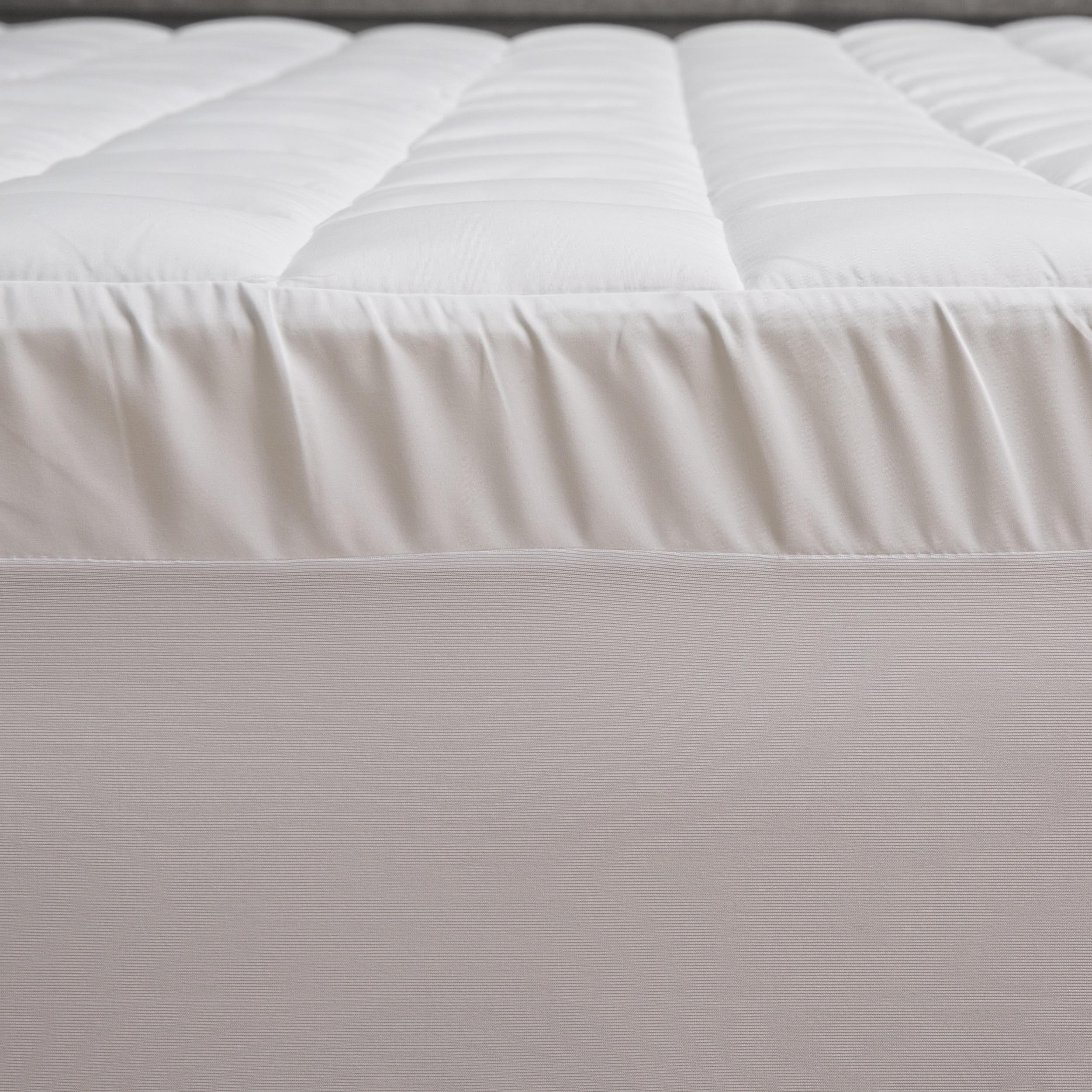 dual amazon gel innovations com sleep foam memory layer and plush fiber topper inch mattress pin