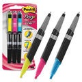 Post-It Flag+ Highlighter and Black Pen Combo (Pack of 3)