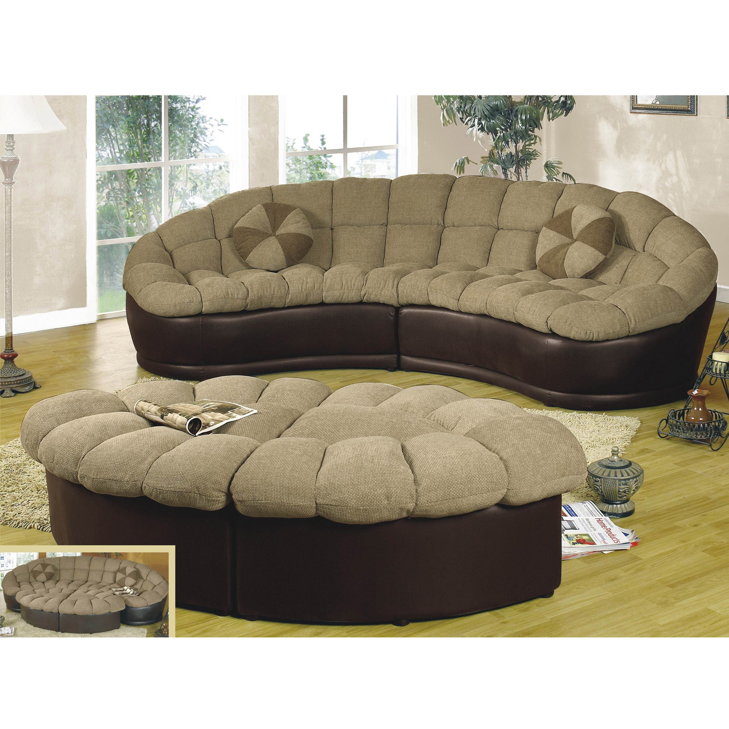 Superbe Shop Papasan Two Piece Sectional Sofa   Free Shipping Today   Overstock.com    5913709