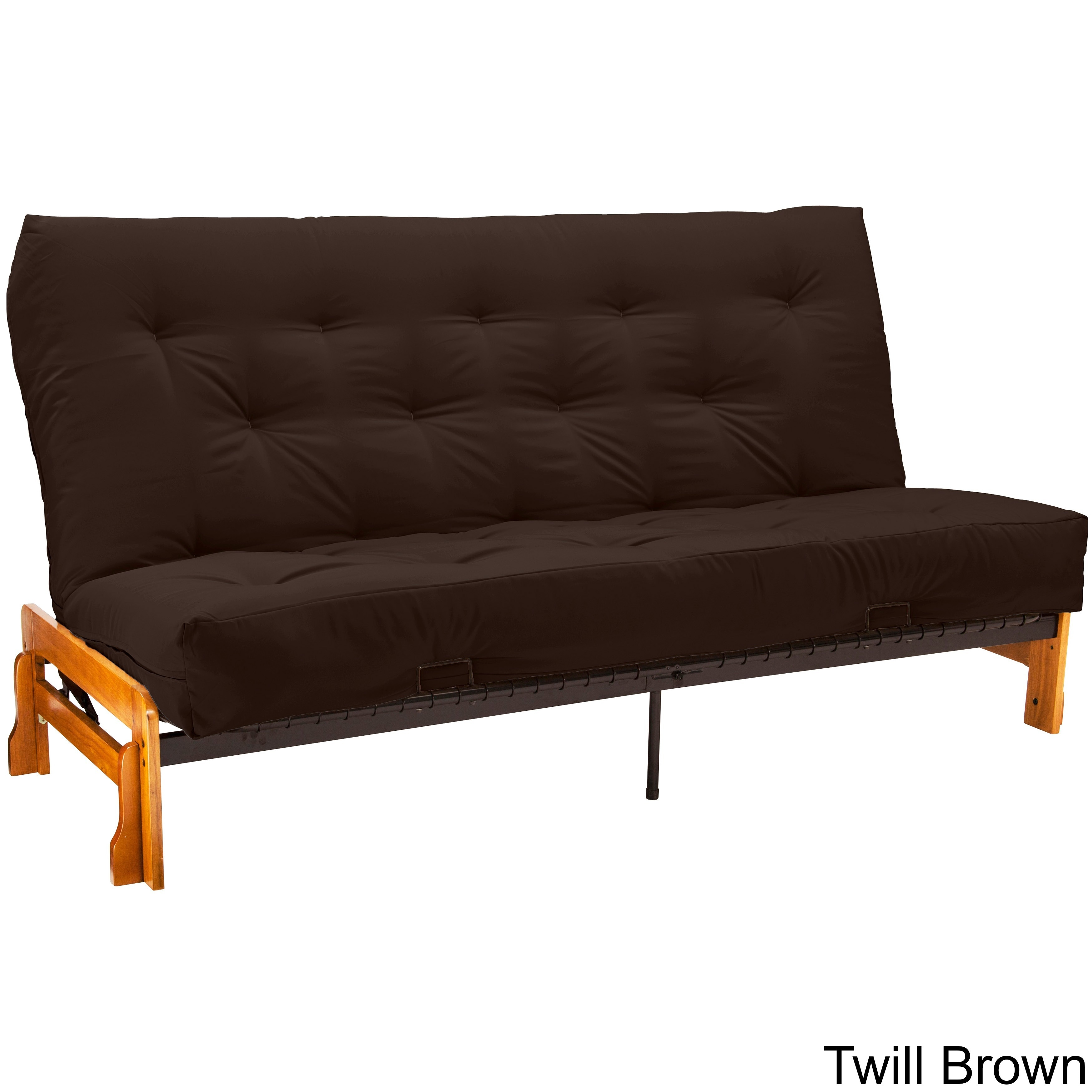 inch monterey today futons home sofa suede product bed garden hardwood shipping free futon overstock somette queen size