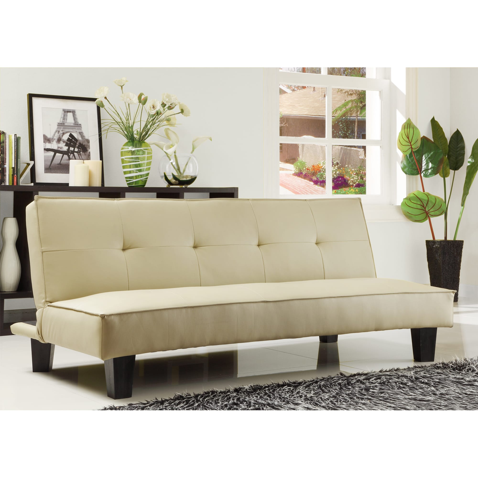 Bento Mini Futon Sofa Bed Inspire Q Modern On Free Shipping Today 5947208
