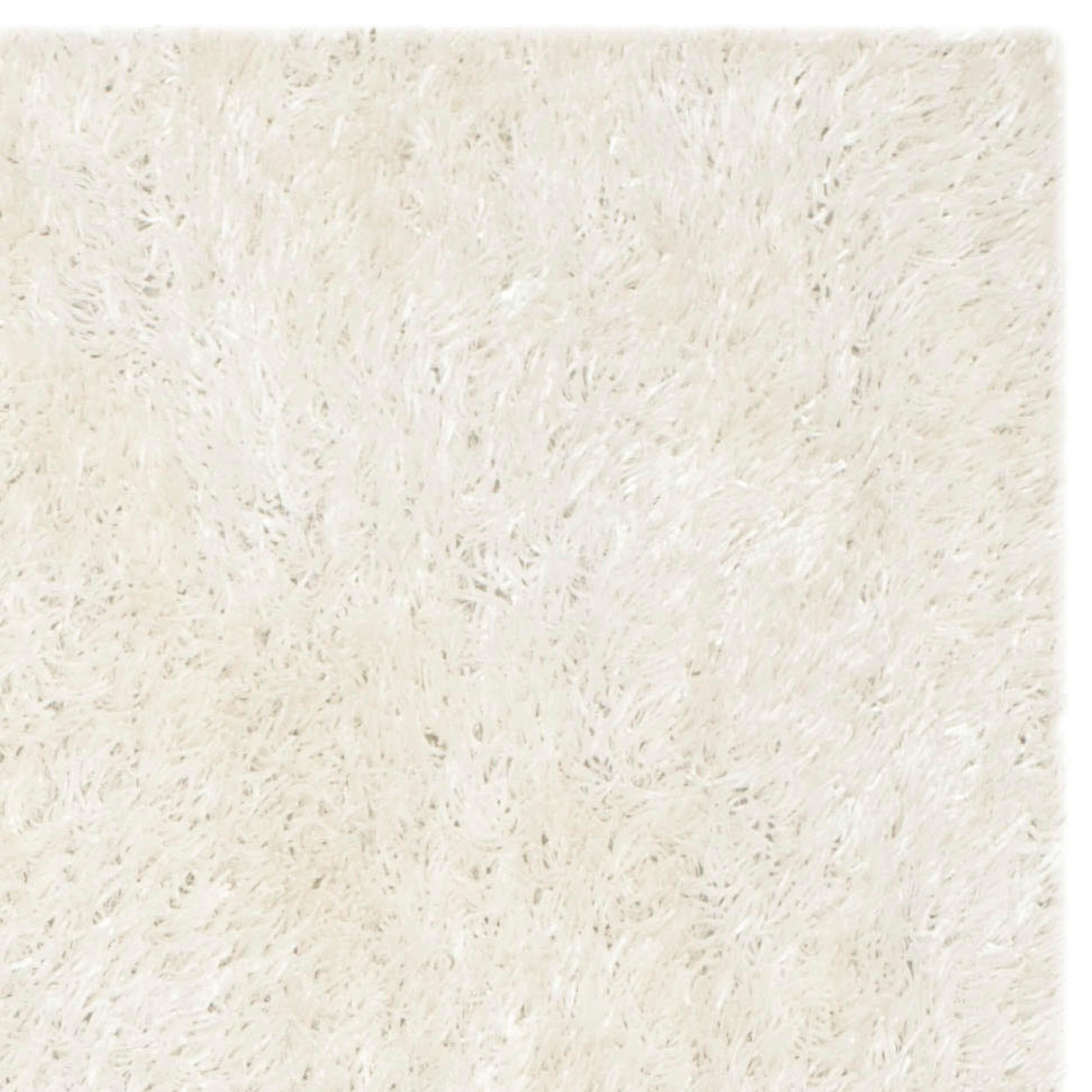 Shop Safavieh Handmade New Orleans Shag Off White Textured Polyester Area Rug