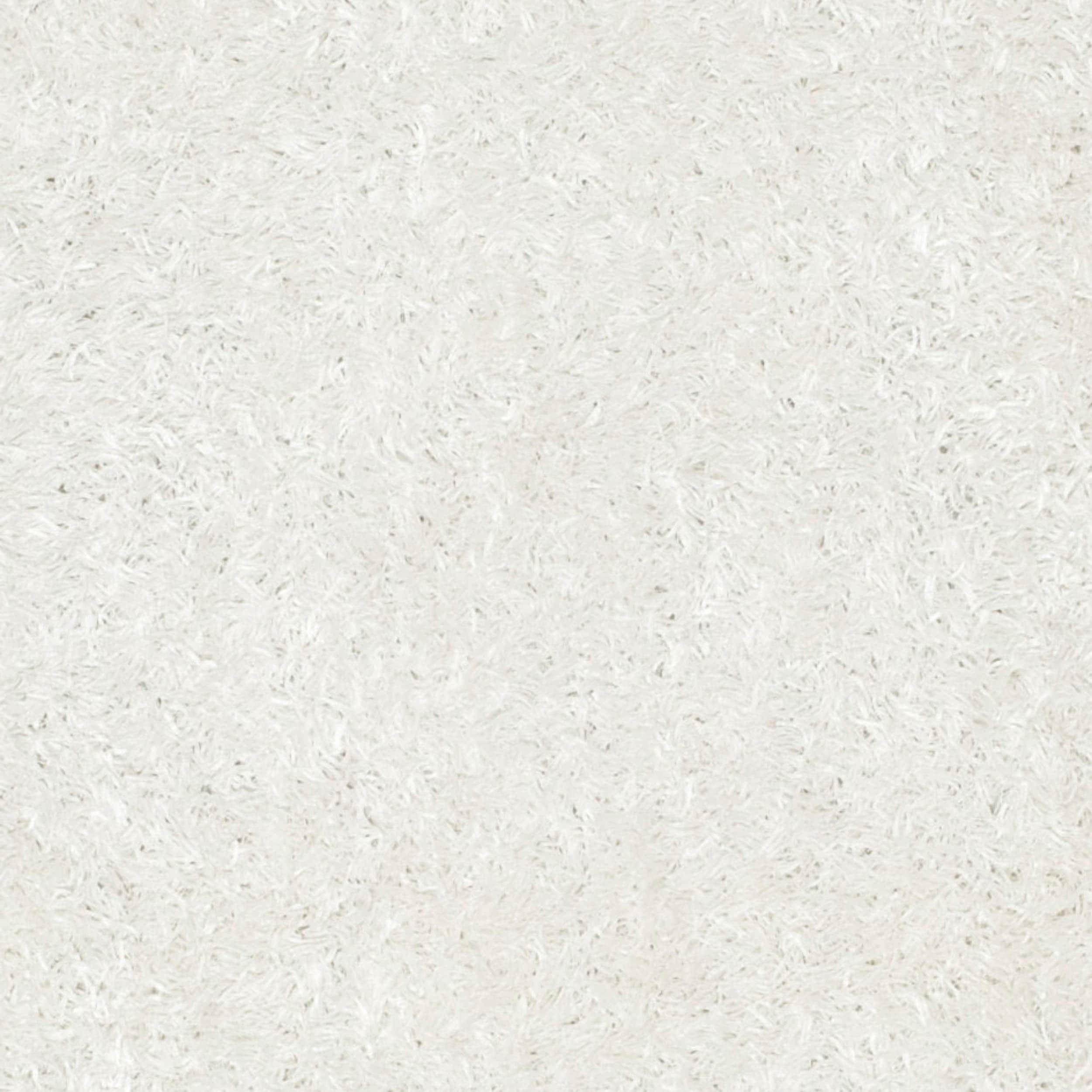 Safavieh Handmade New Orleans Shag Off White Textured Polyester Area