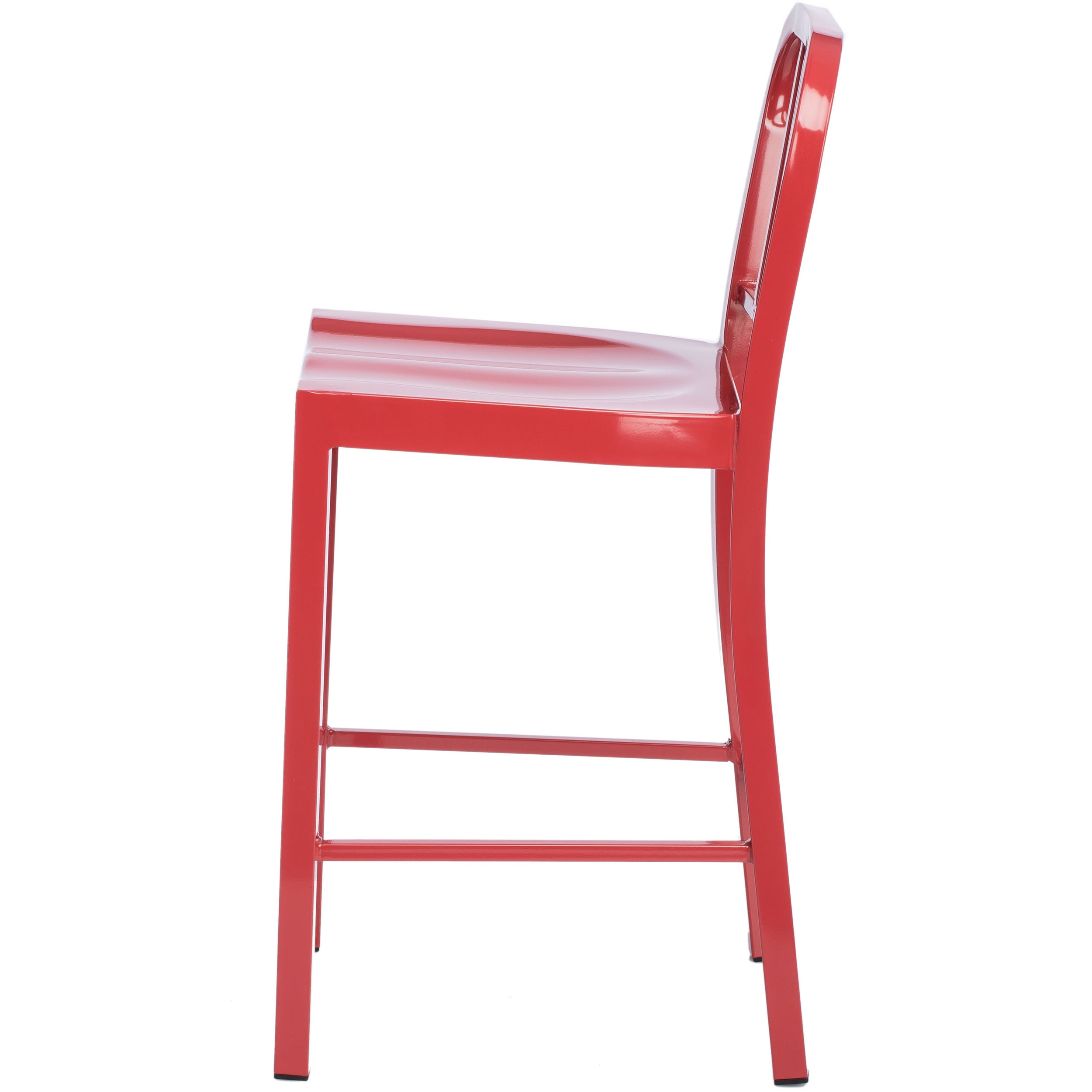 Shop Jasper Laine Red Metal Counter Stools (Set Of 2)   Free Shipping Today    Overstock.com   5954038