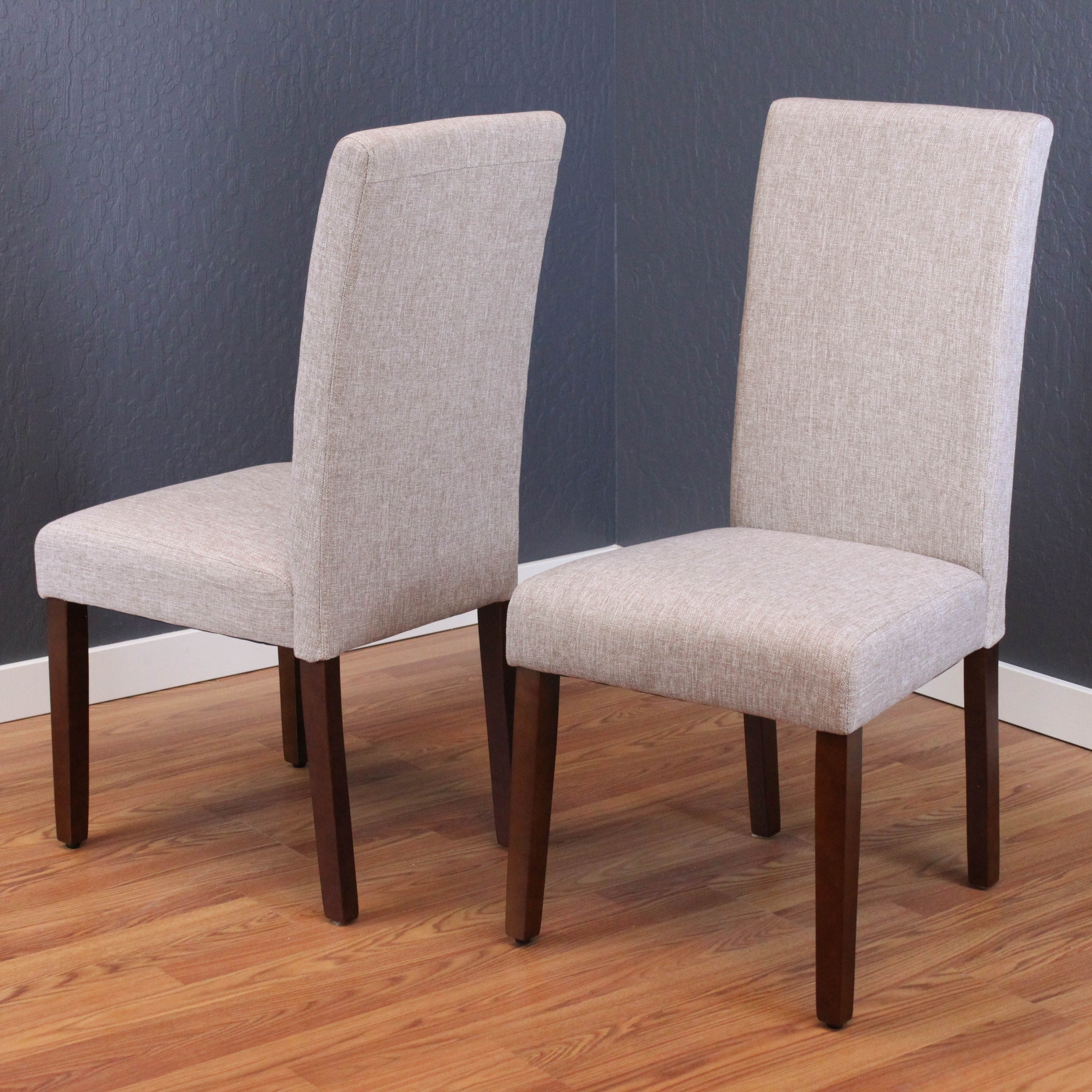 Shop Seville Linen Dining Chairs (Set of 2) - Free Shipping Today - Overstock - 5954255 & Shop Seville Linen Dining Chairs (Set of 2) - Free Shipping Today ...