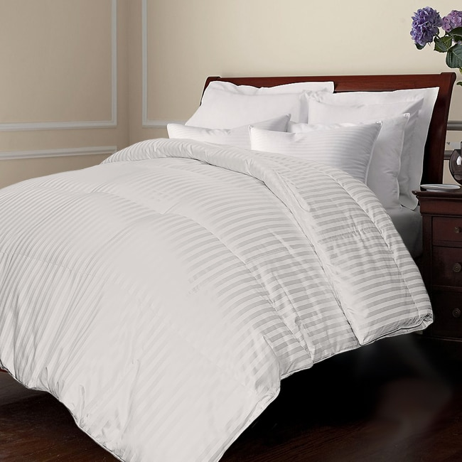 Oversized 500 Thread Count All Season Down Blend Comforter Free Shipping Today 13651975