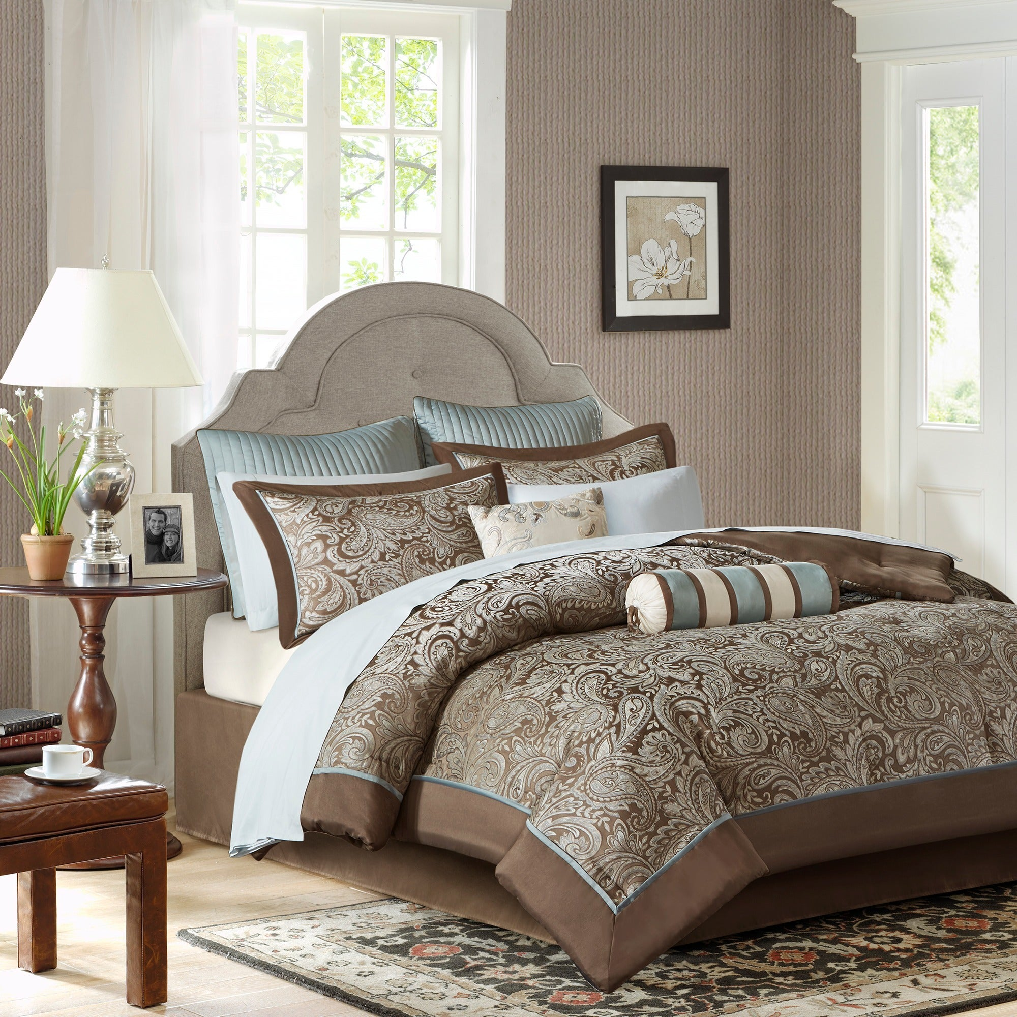 satin bedding new scala silver brand set main queen j la comforter york