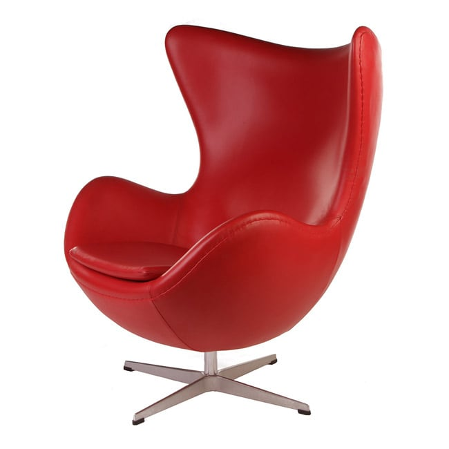 sc 1 st  Overstock.com & Shop Leather Egg Chair - Free Shipping Today - Overstock.com - 5955904