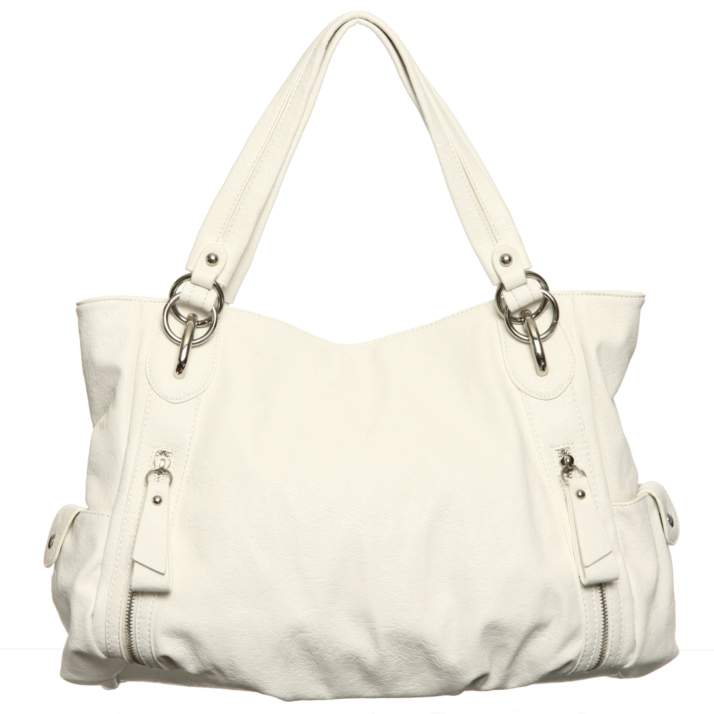 Shop Emperia Faux Leather Hobo Bag - Free Shipping On Orders Over  45 -  Overstock.com - 5960518 5c7b2b9db955c
