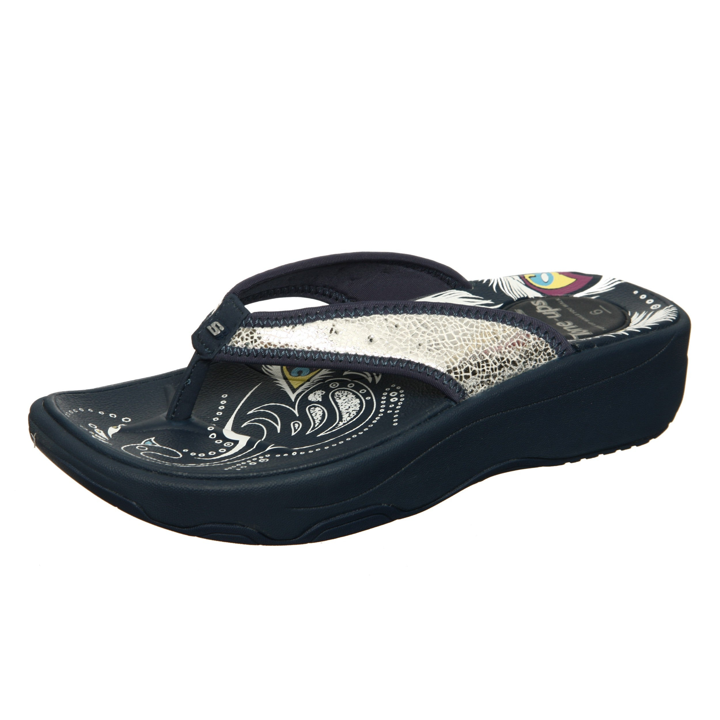 5aacb26de858 Shop Skechers USA Women s Tone-ups  Beach Body  Thong Style Toning Sandals  - Free Shipping On Orders Over  45 - Overstock - 5960614