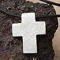 Handmade Men's Silver 'Southern Cross' Leather Necklace (Peru)