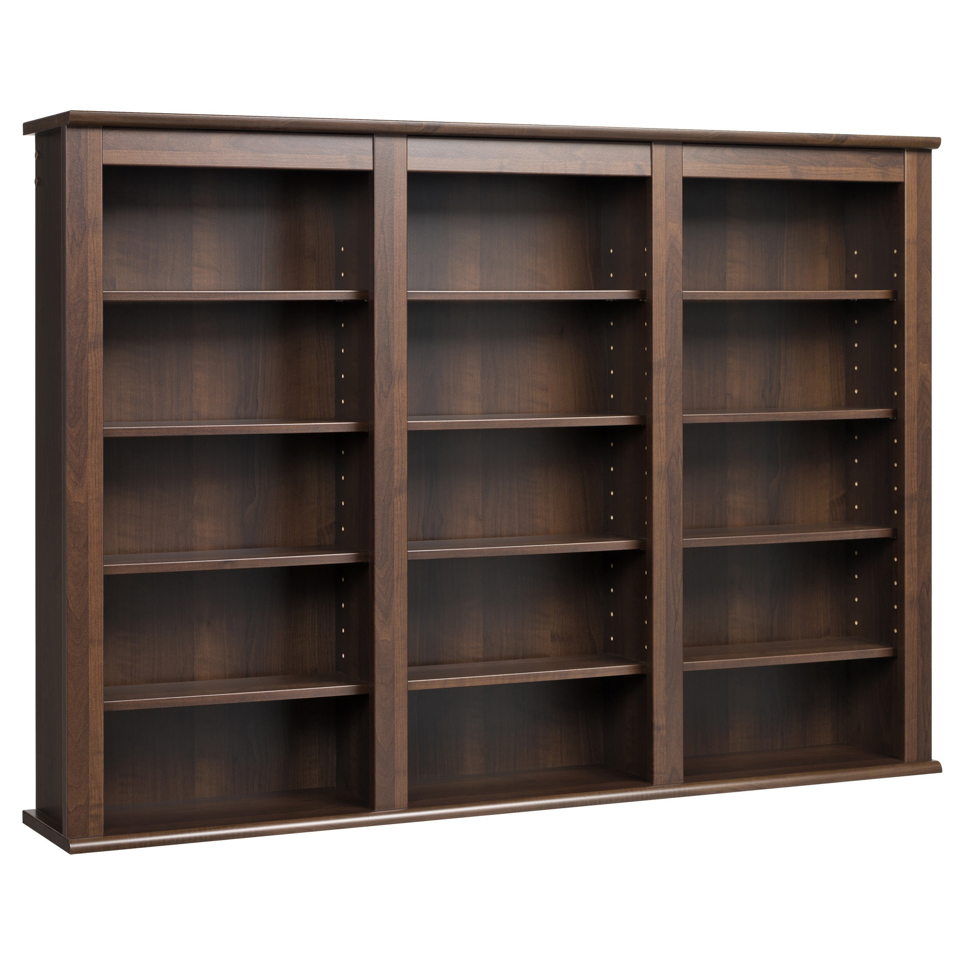 Shop Everett Espresso Wall -hanging Media Storage Cabinet - Free Shipping Today - Overstock.com - 5978105  sc 1 st  Overstock.com & Shop Everett Espresso Wall -hanging Media Storage Cabinet - Free ...