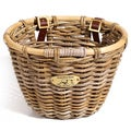Nantucket Bicycle Basket Co. Classic Rattan Bicycle Basket