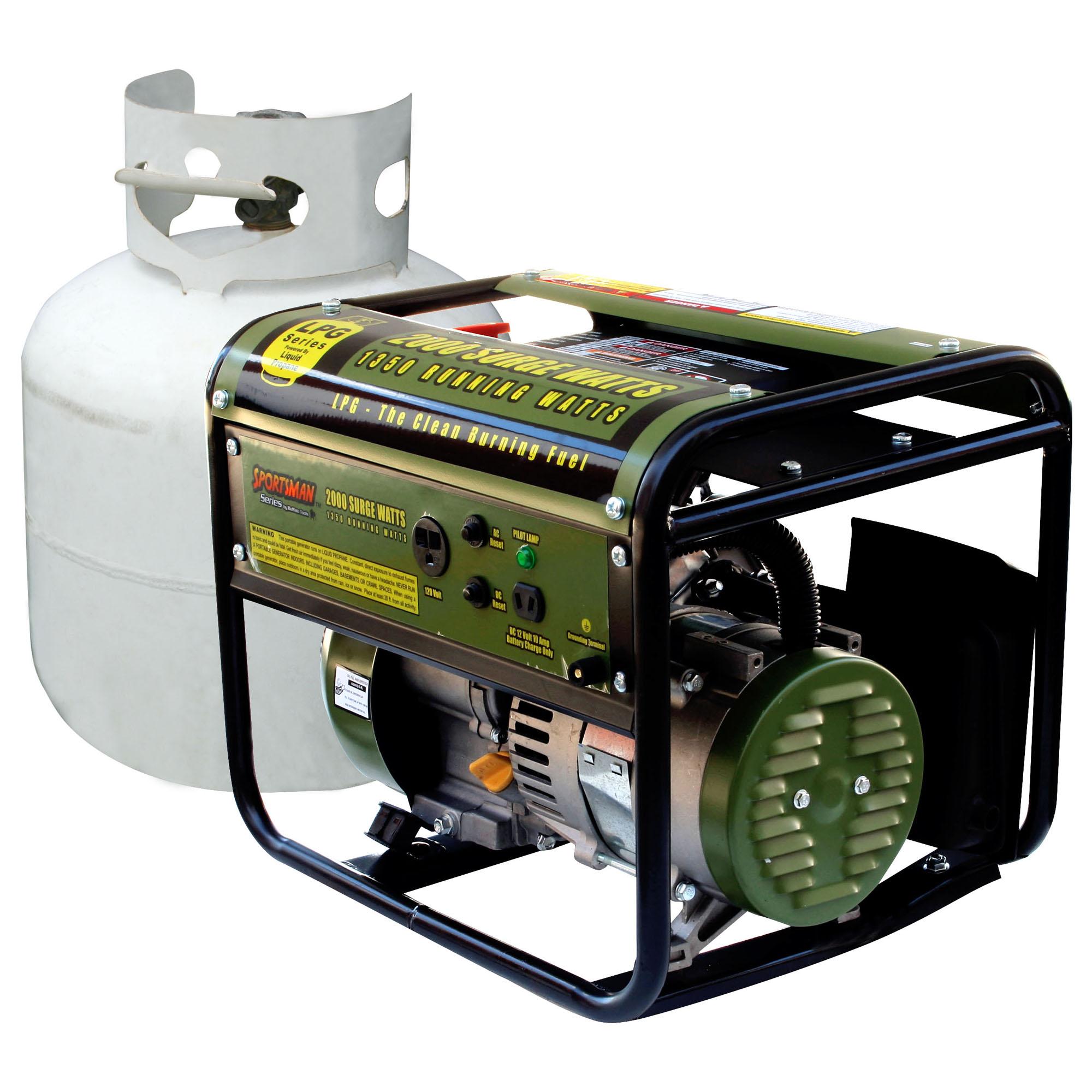 2000 watt Propane Generator Free Shipping Today Overstock