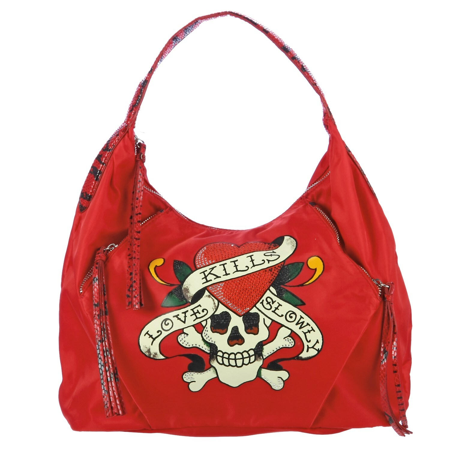 Shop Ed Hardy Chelsea Hobo Bag - Free Shipping Today - Overstock.com -  6006753 99ac64715ee21