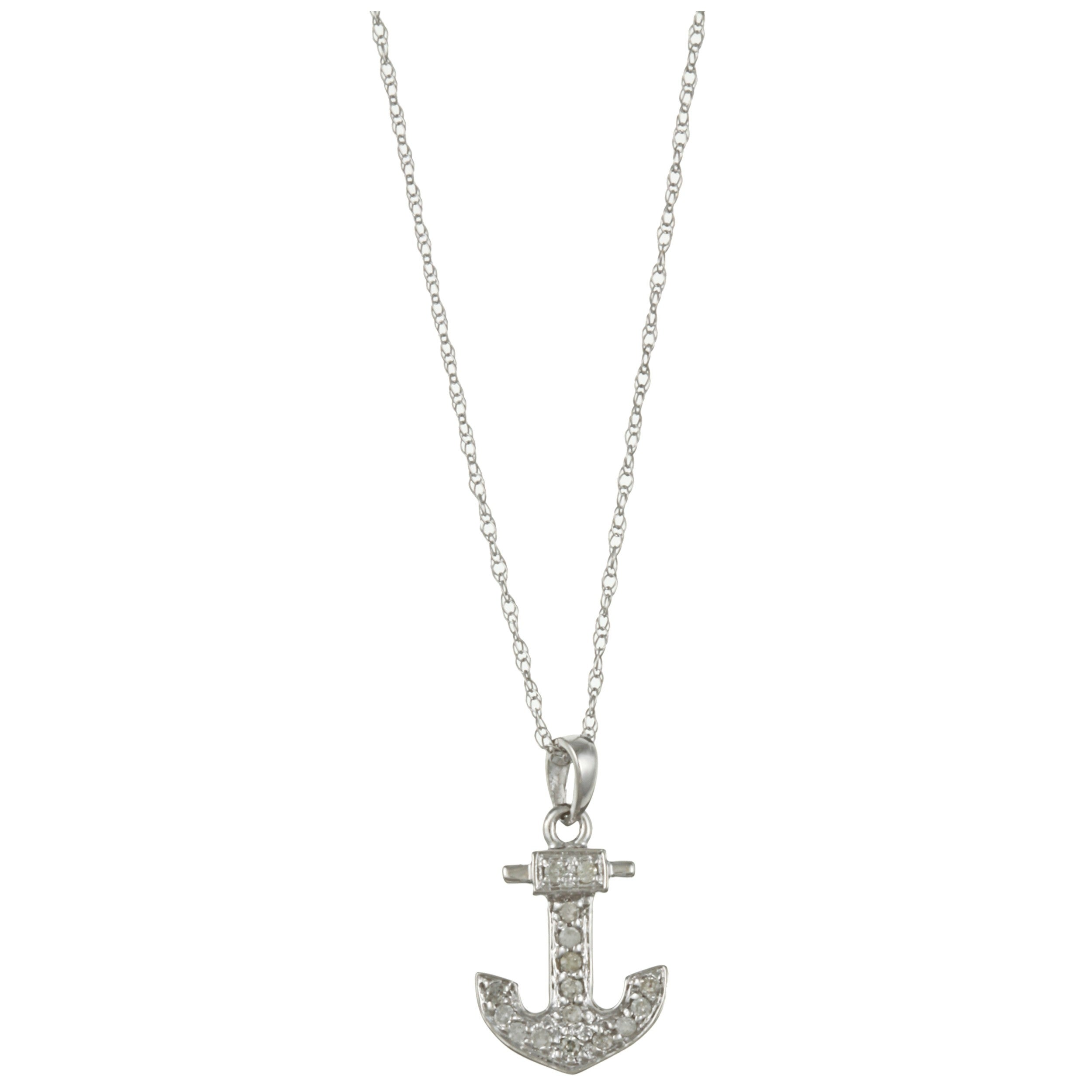 anchor necklace filigrenasia pendant