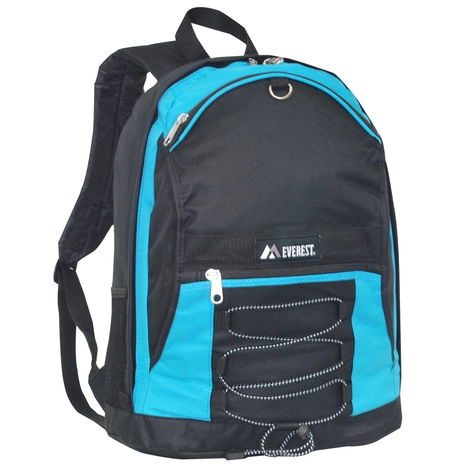 Shop Everest 17-inch Two-tone Backpack with Mesh Pockets - Free ...