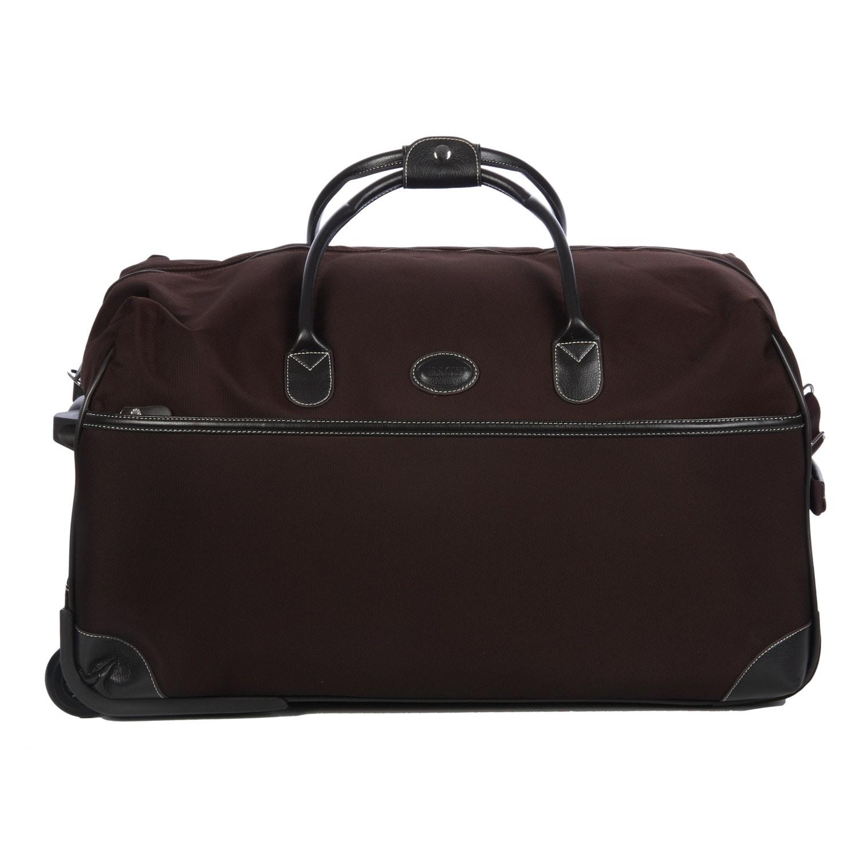 Shop Brics Pronto 28-inch Rolling Duffel Bag - Free Shipping Today ... 3bc80b18a6eec