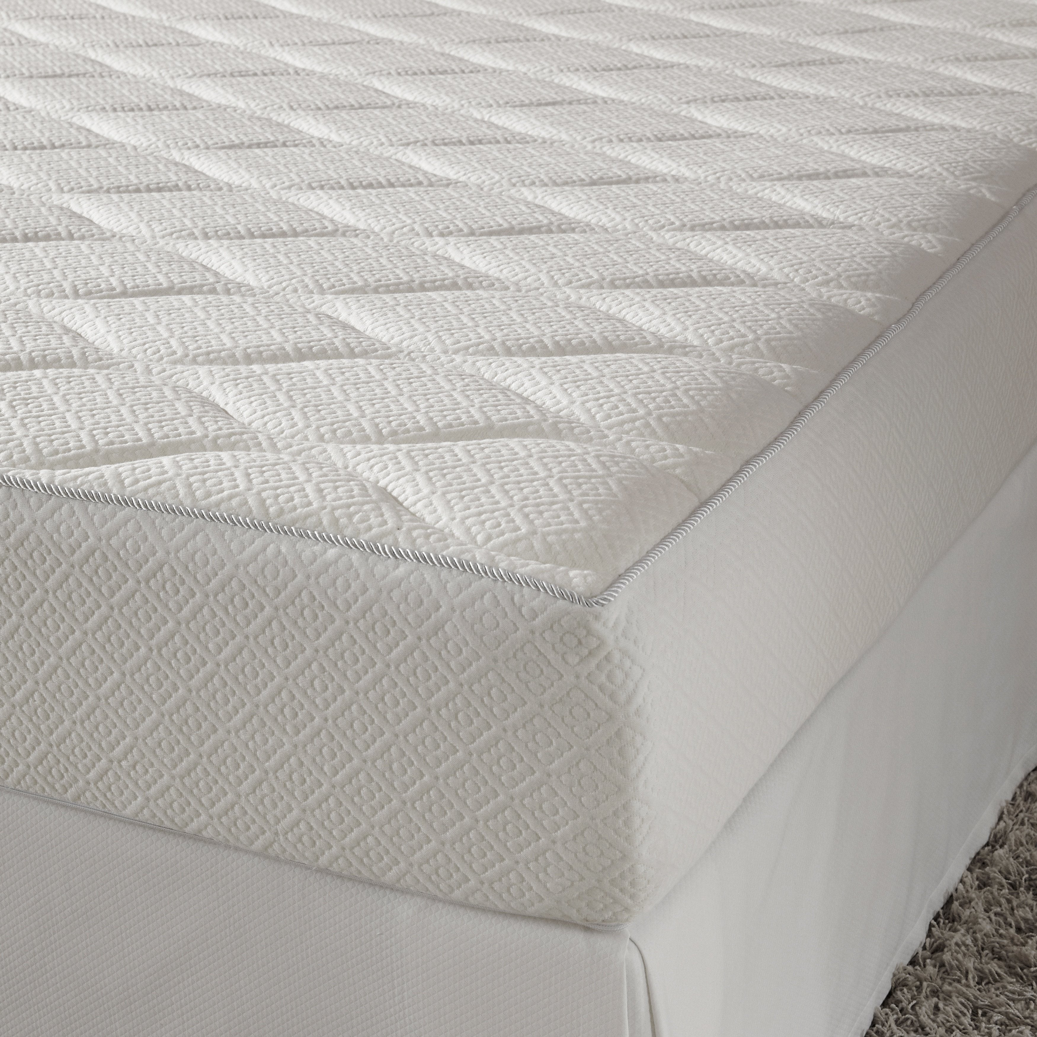 Queen 10 inch Memory Foam Mattress with Quilted Top Free