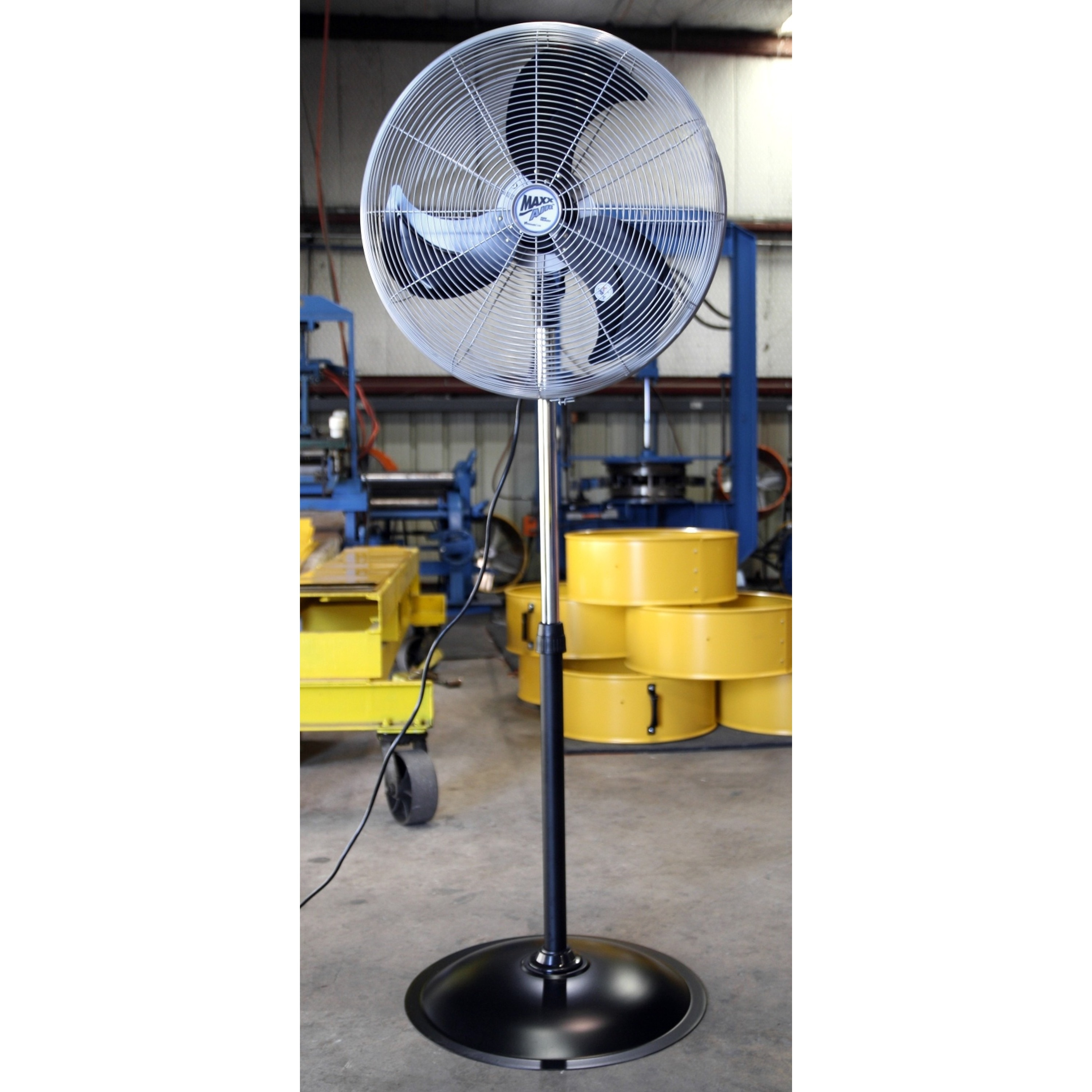 Shop 22 Inch Heavy Duty 3 Speed Pedestal Fan Free Shipping Today Electric 16 Stainless Steel Of 6050969