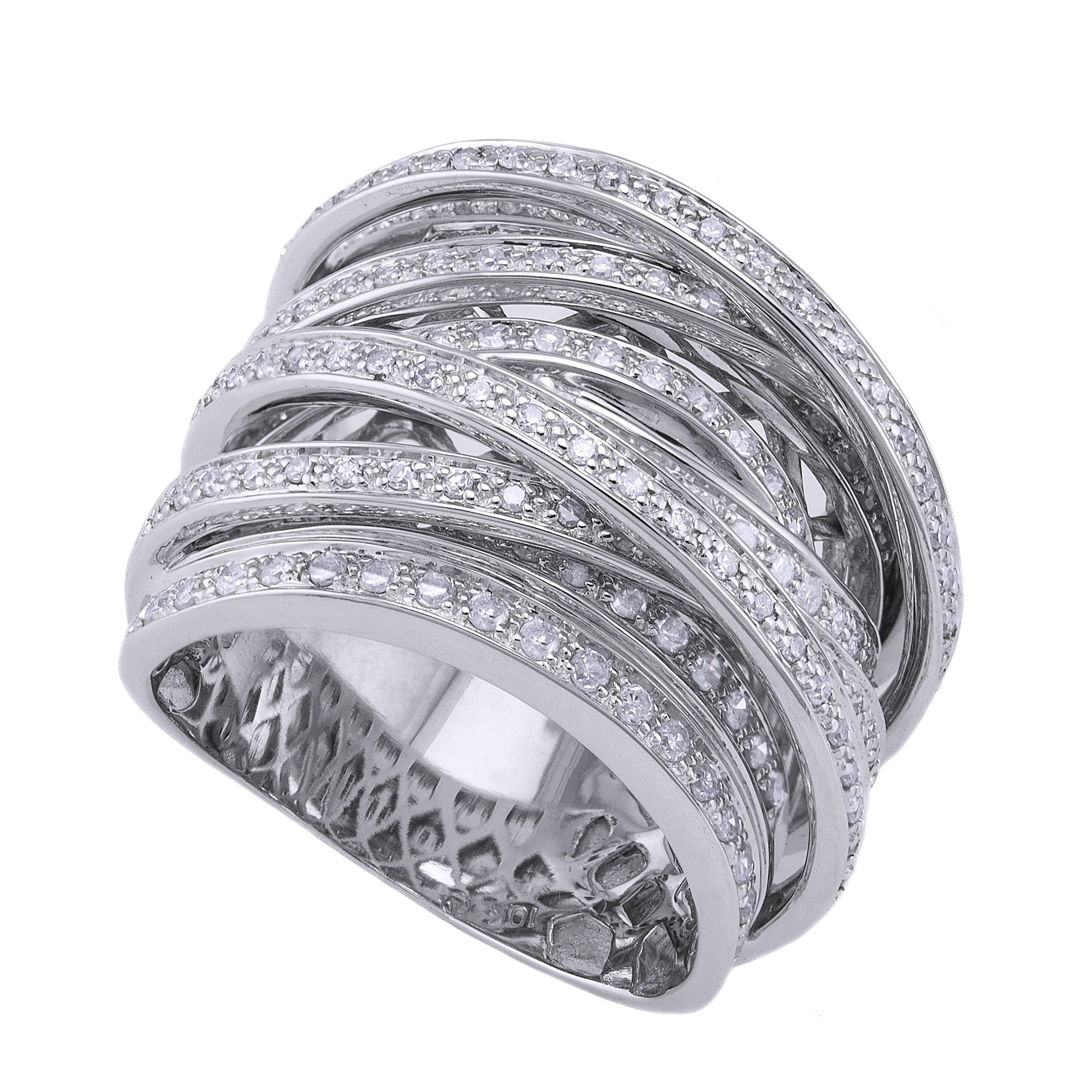 multi products diamonds round white ring diamond gold tr rose yellow bands
