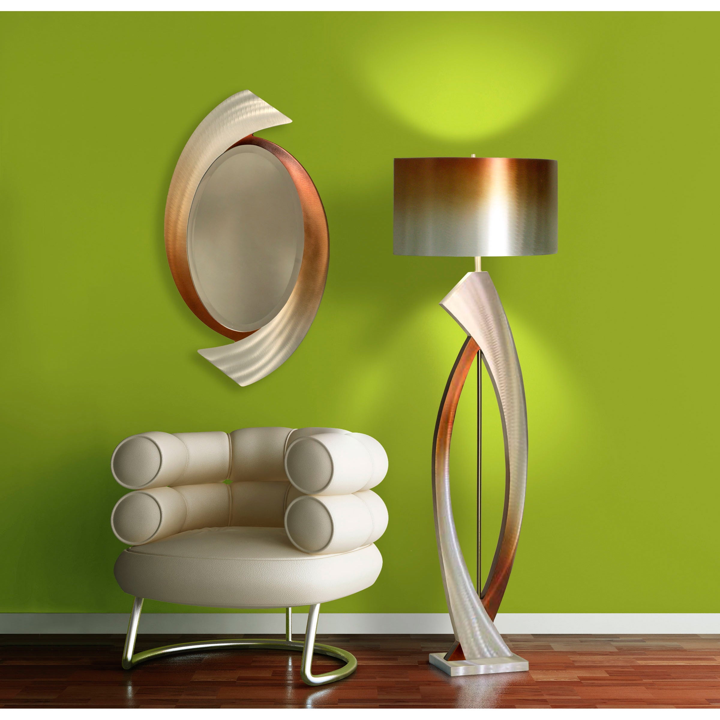 operated mirror way infinite nova lighting light battery