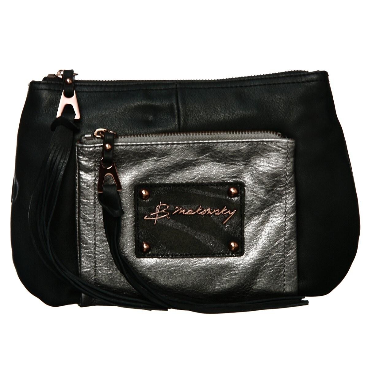 B Makowsky Rochelle Top Zip Crossbody Bag Free Shipping Today 6055735