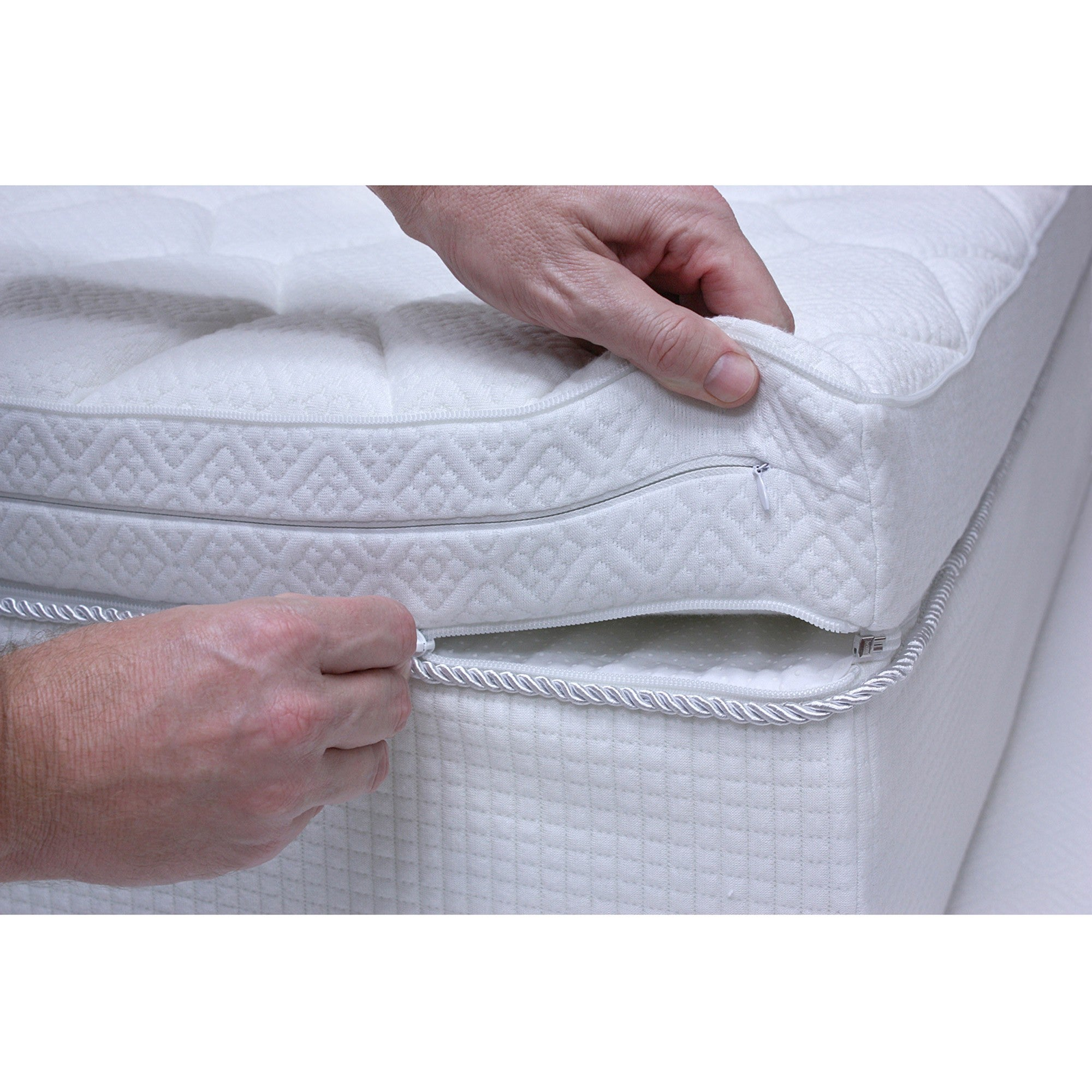 Pure Rest Reversible Top 12 inch Full size Memory Foam Mattress