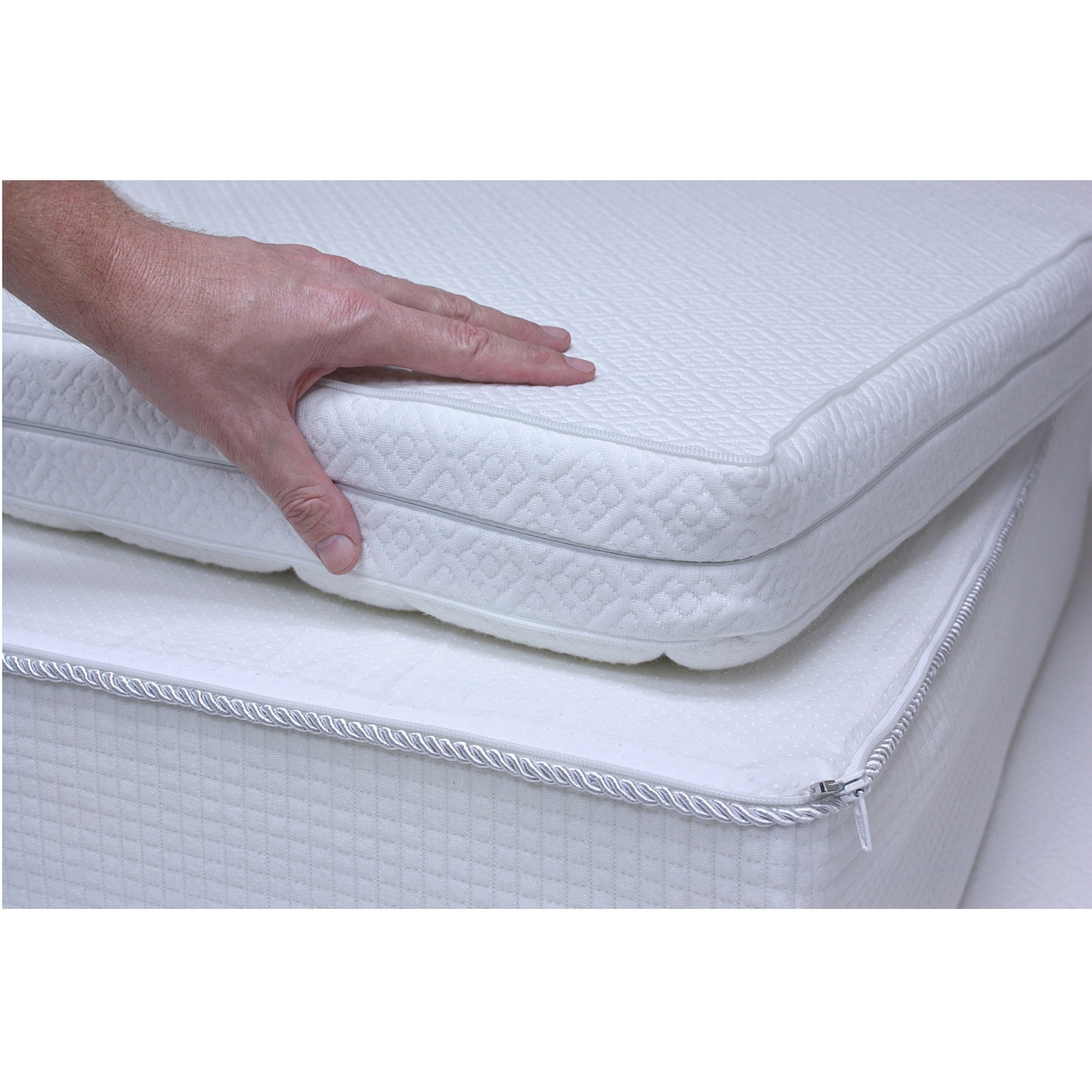 12 Inch Top Reversible Medium Firm or Soft King Size Memory Foam
