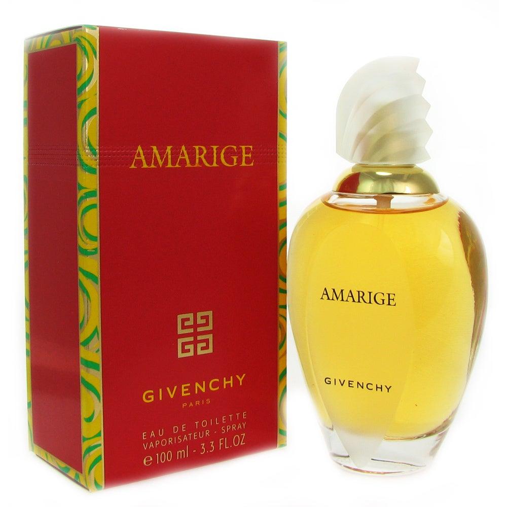 Shop Givenchy Amarige Womens 33 Ounce Eau De Toilette Spray Free