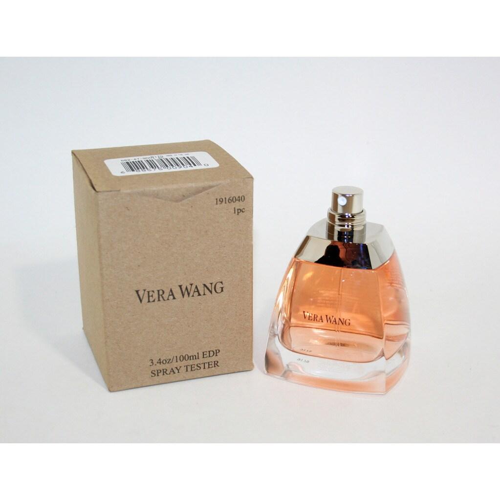 Shop Vera Wang Womens 34 Ounce Eau De Parfum Spray Tester Free For Women 100 Ml Shipping On Orders Over 45 6090399