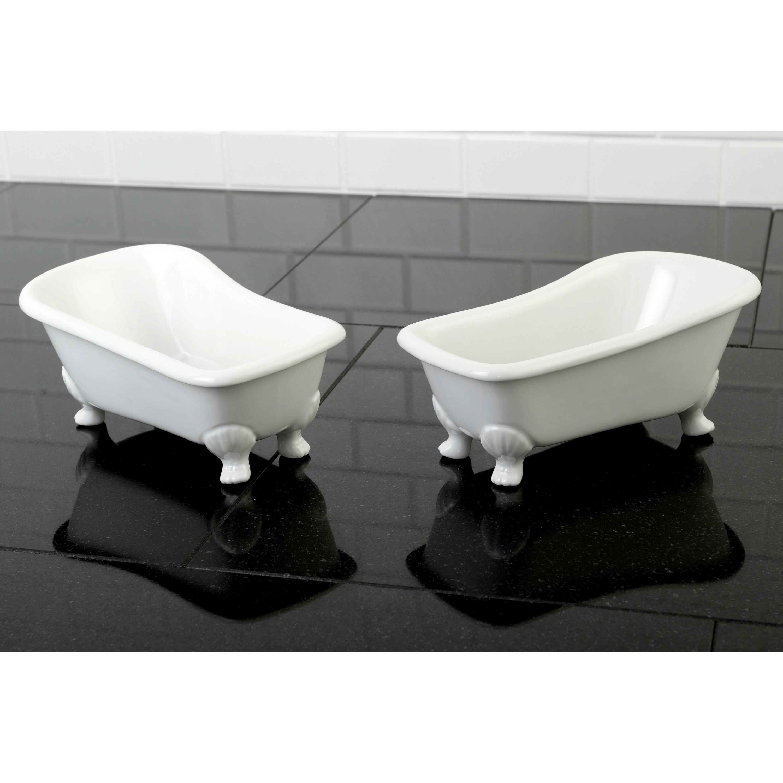 Shop Clawfoot Bathtub Accessory 2-piece Set - Free Shipping On ...
