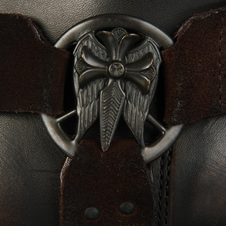 64220141ca Shop lounge mark nason mens la bar dark brown leather harness boots free  shipping today jpg