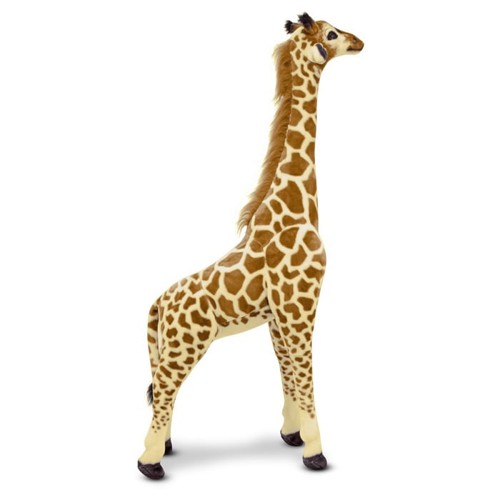 Shop Melissa Doug Plush Jumbo Giraffe Stuffed Animal Free