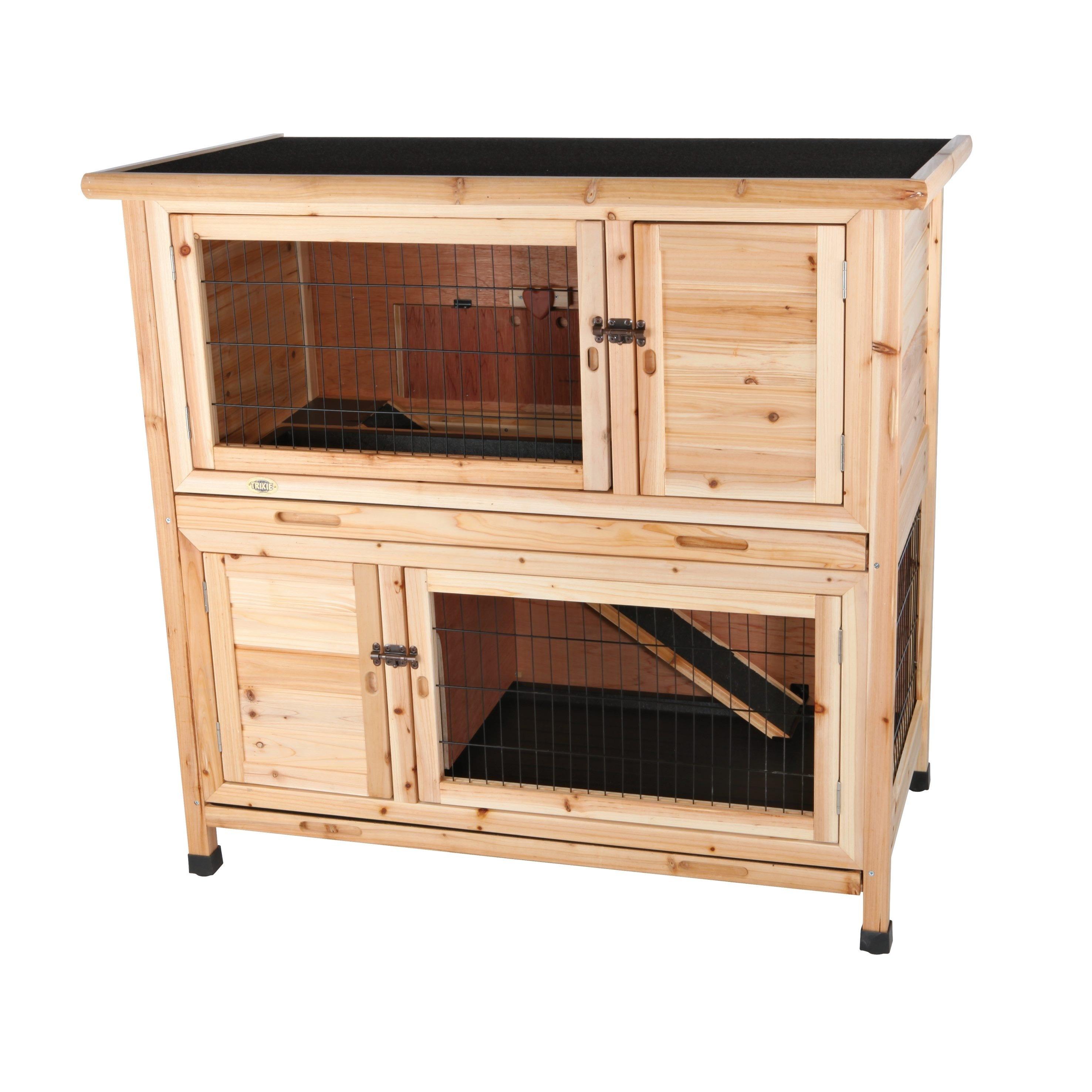 wood hutch walmart trixie run pet outdoor rabbit solid with ip com