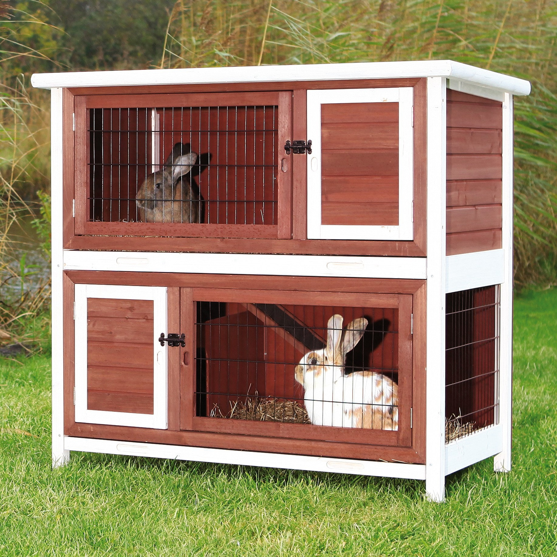handmade pet com products sale x dp for view garden amazon with hutch a hutches outdoor rabbit inches trixie