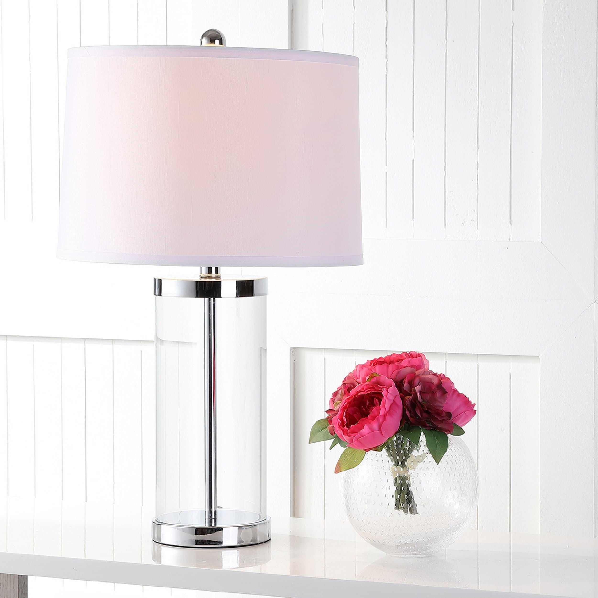 exquisite lighting. Shop Safavieh Lighting 25.5-inch Glass Exquisite Table Lamp (Set Of 2) - On Sale Free Shipping Today Overstock.com 6128547 G