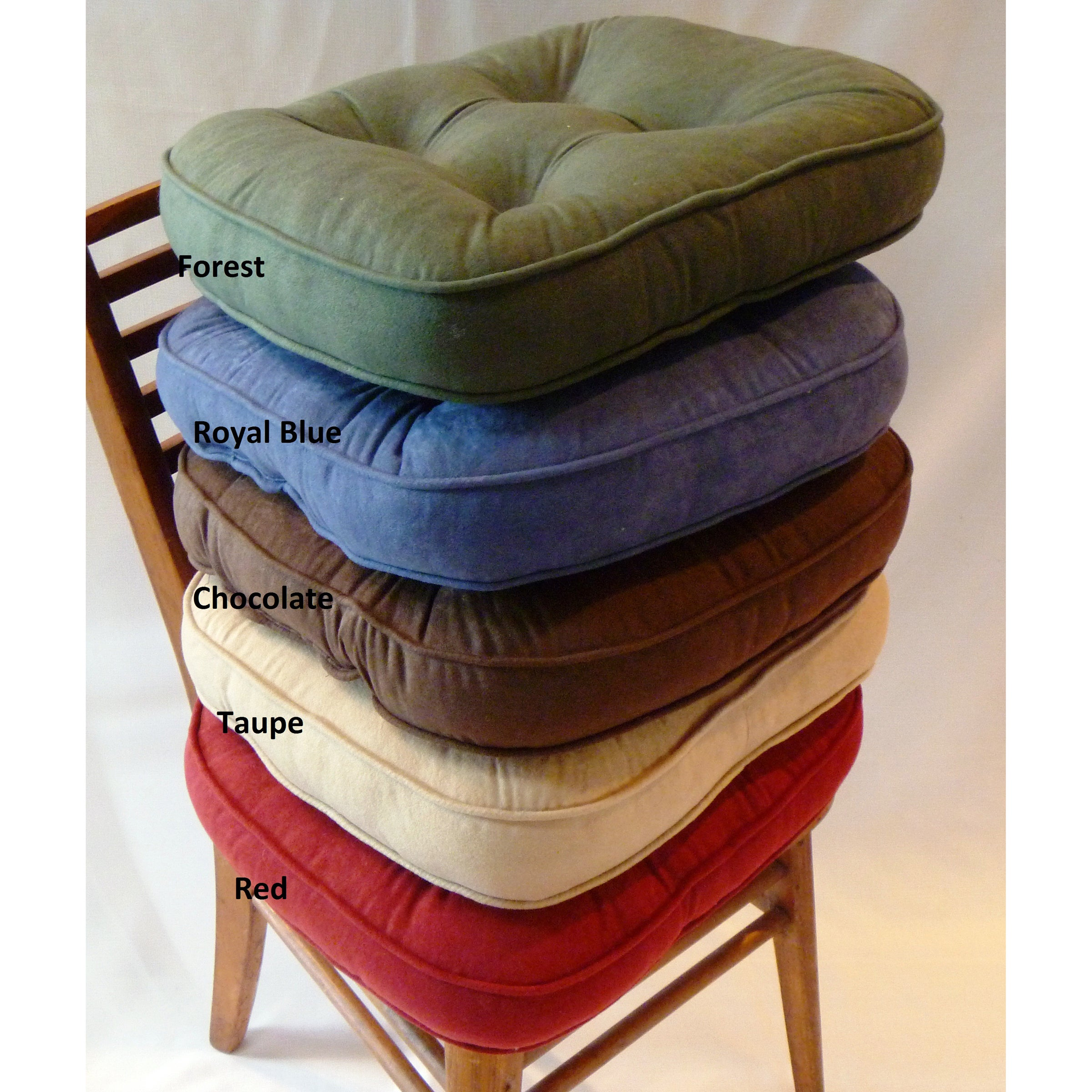 Baxter Non Slip Oversize Welted Chair Pads Set Of 4 Free Shipping Today 6137648