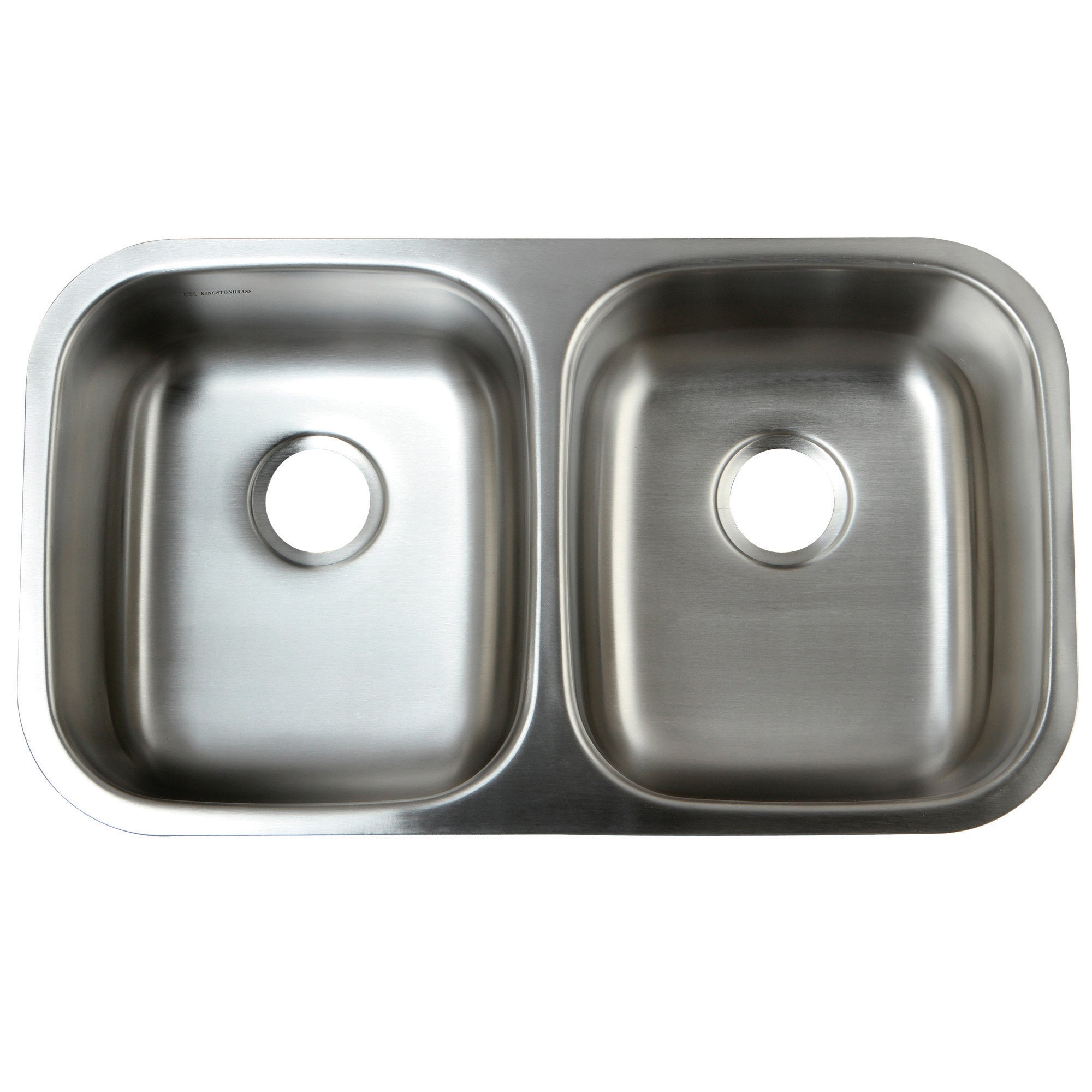 Stainless steel 31 inch undermount double bowl 18 gauge kitchen sink stainless steel 31 inch undermount double bowl 18 gauge kitchen sink free shipping today overstock 13804302 workwithnaturefo