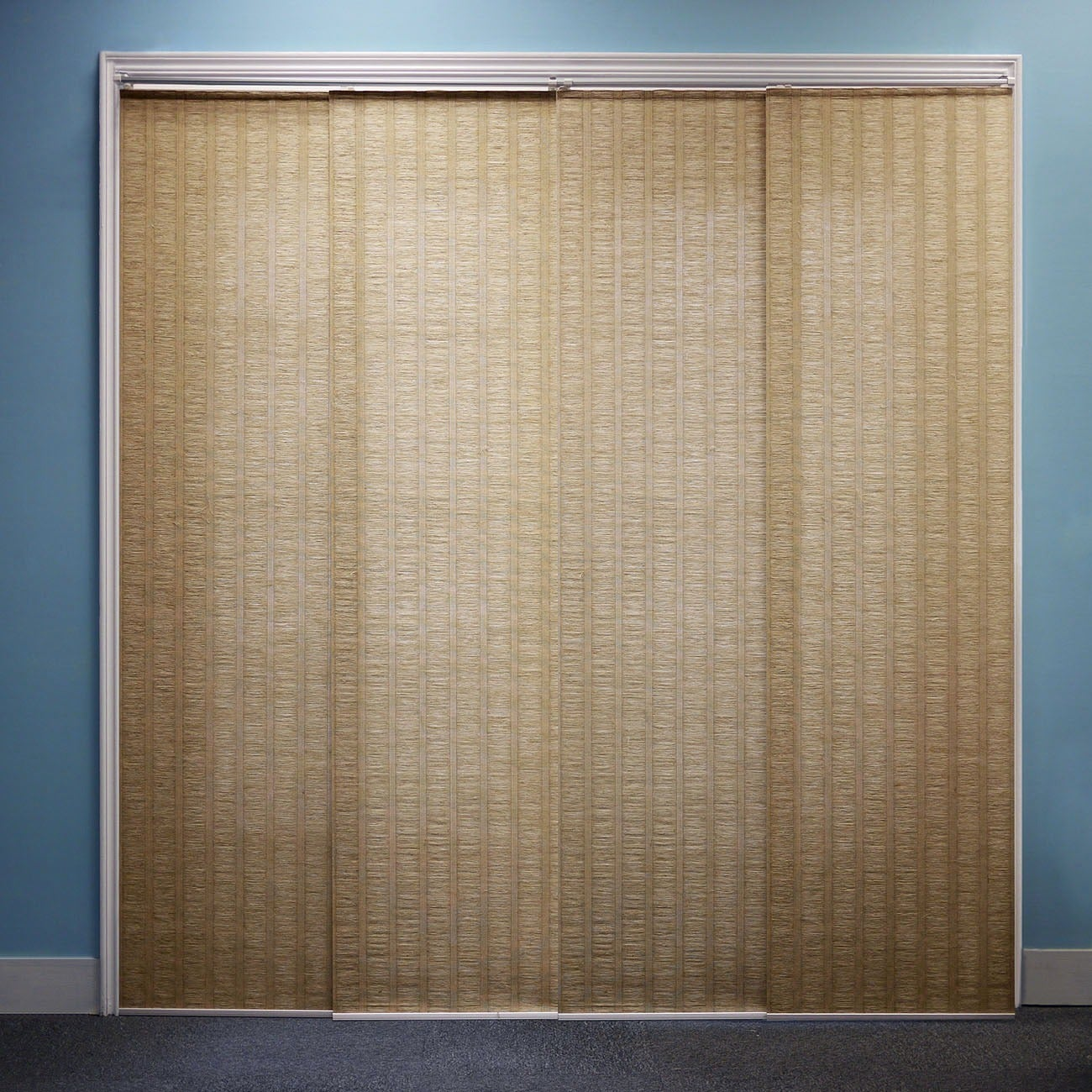 Shop Chicology Adjustable Sliding Panel Beach Natural Woven