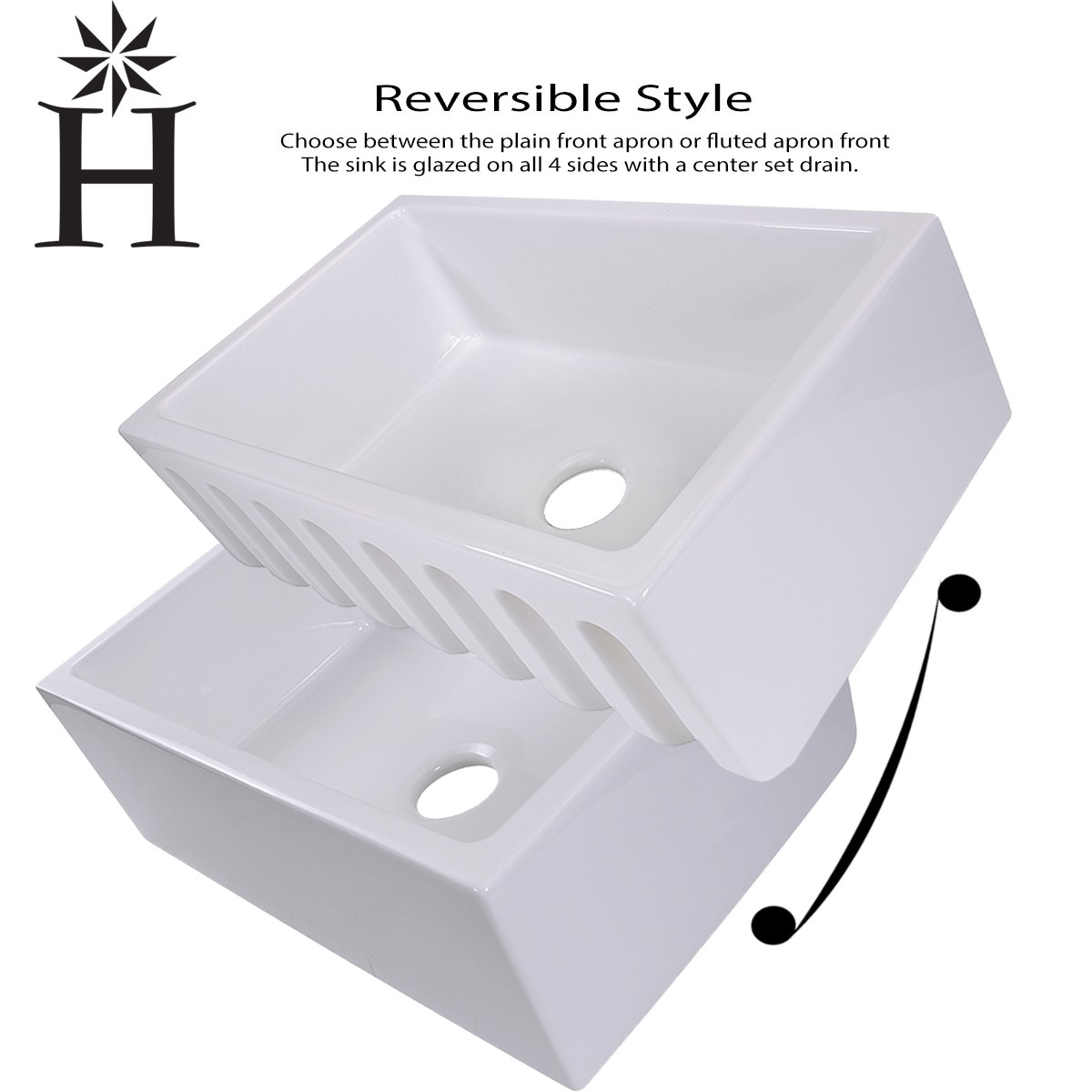 White Italian Fireclay 30 Inch Farmhouse Kitchen Sink   Free Shipping Today    Overstock   13809973