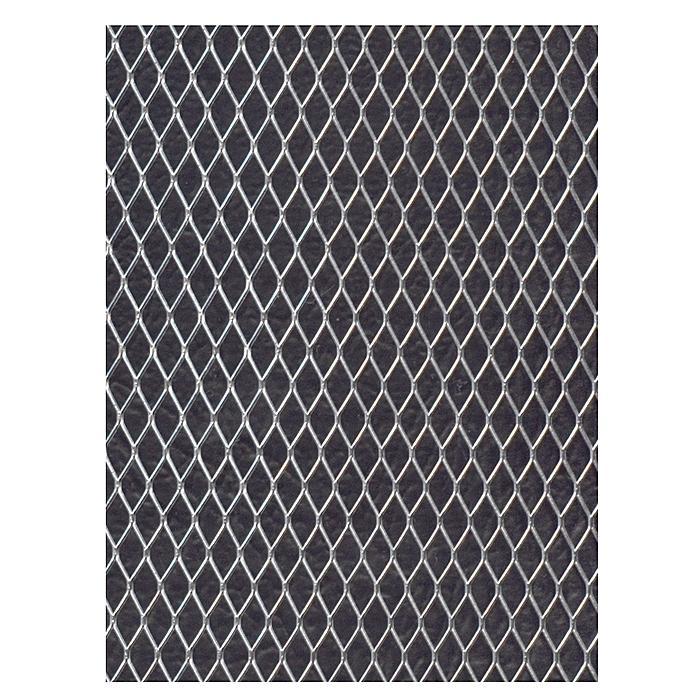 Shop Amaco 0.25 Mesh 10-foot Wireform Aluminum Diamond Mesh Roll ...