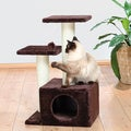 "Trixie 28"" Plush Valencia Cat Tree"