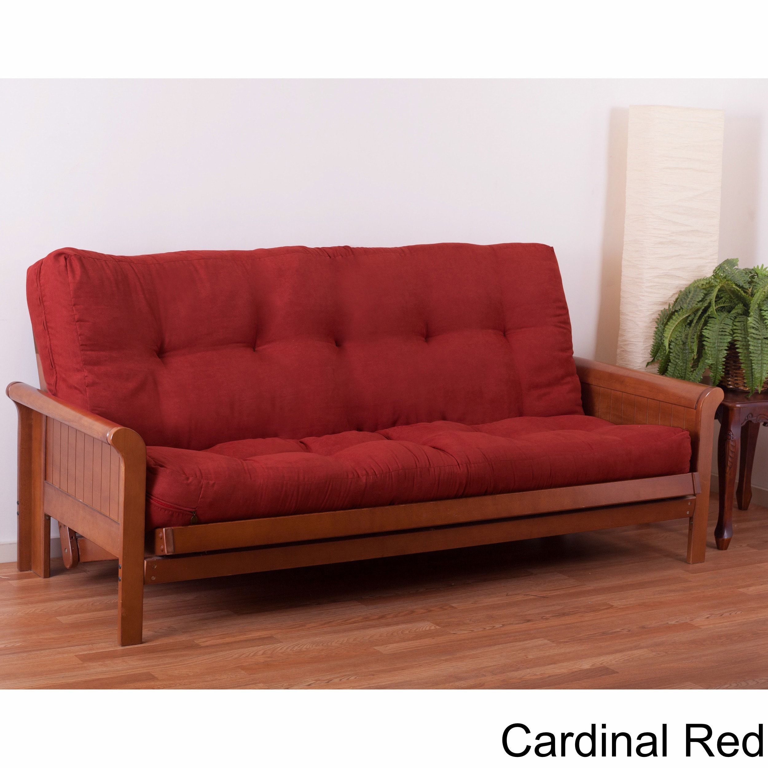 discount futon in leather ottoman otto affordable so austin red savvy furniture