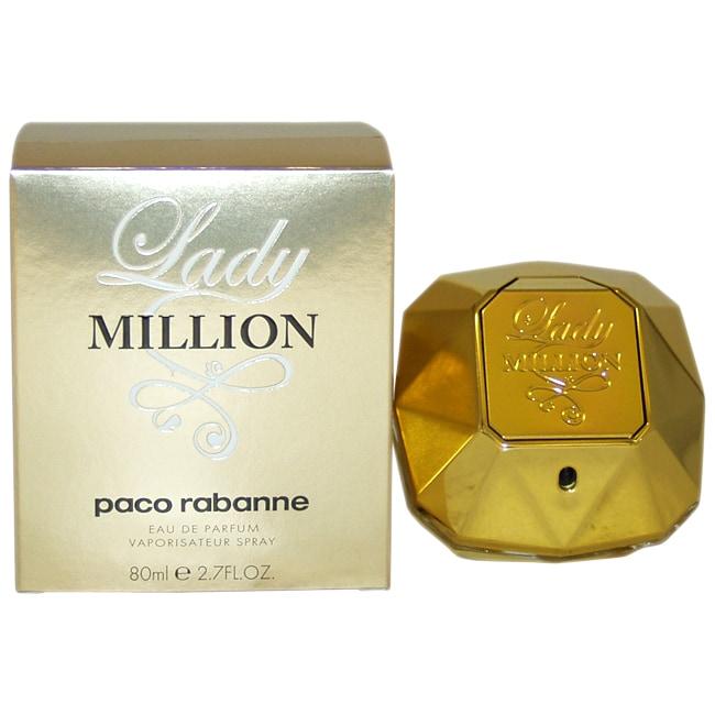 Shop Paco Rabanne Lady Million Womens 27 Ounce Eau De Parfum Spray