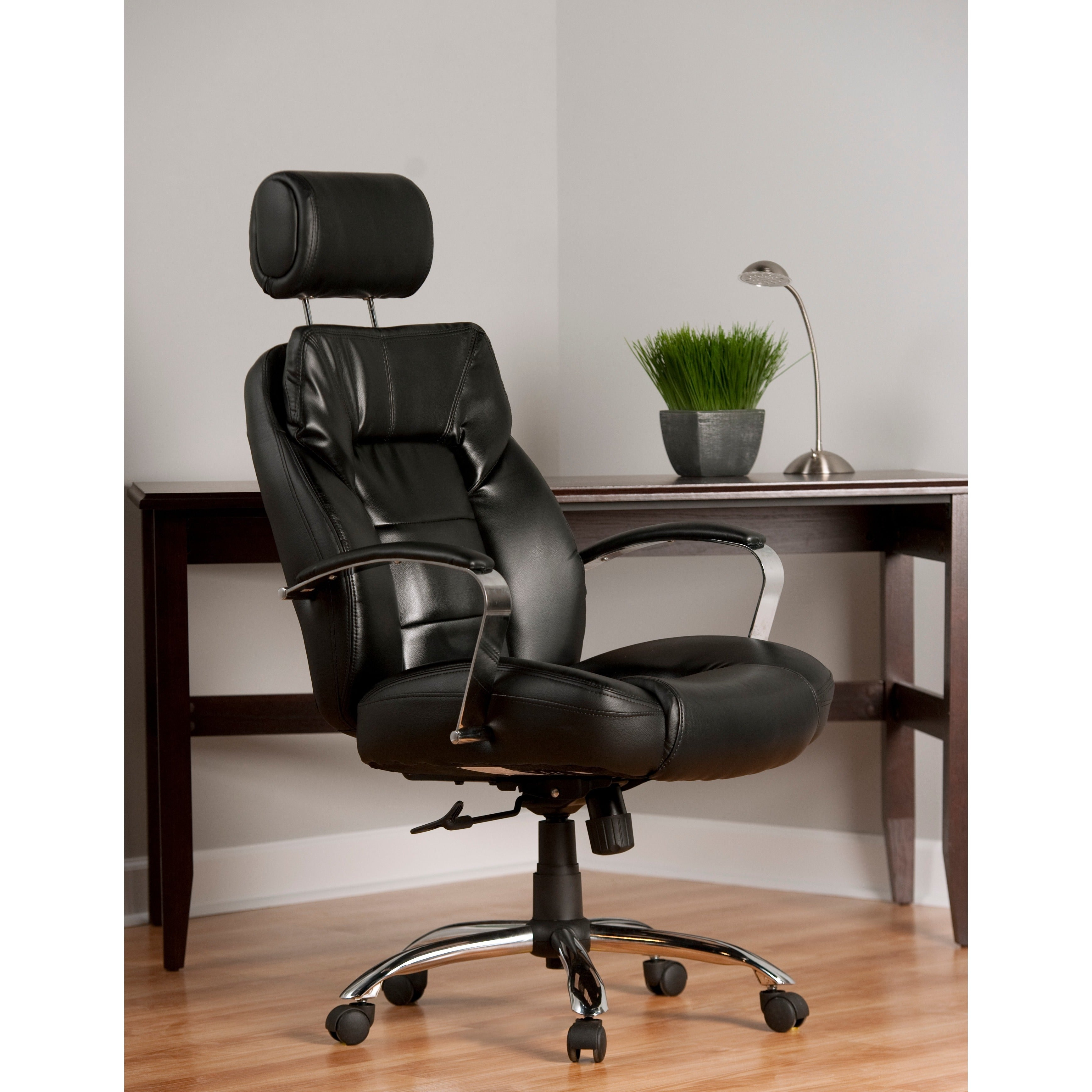 shop comfort products commodore ii big and tall leather executive