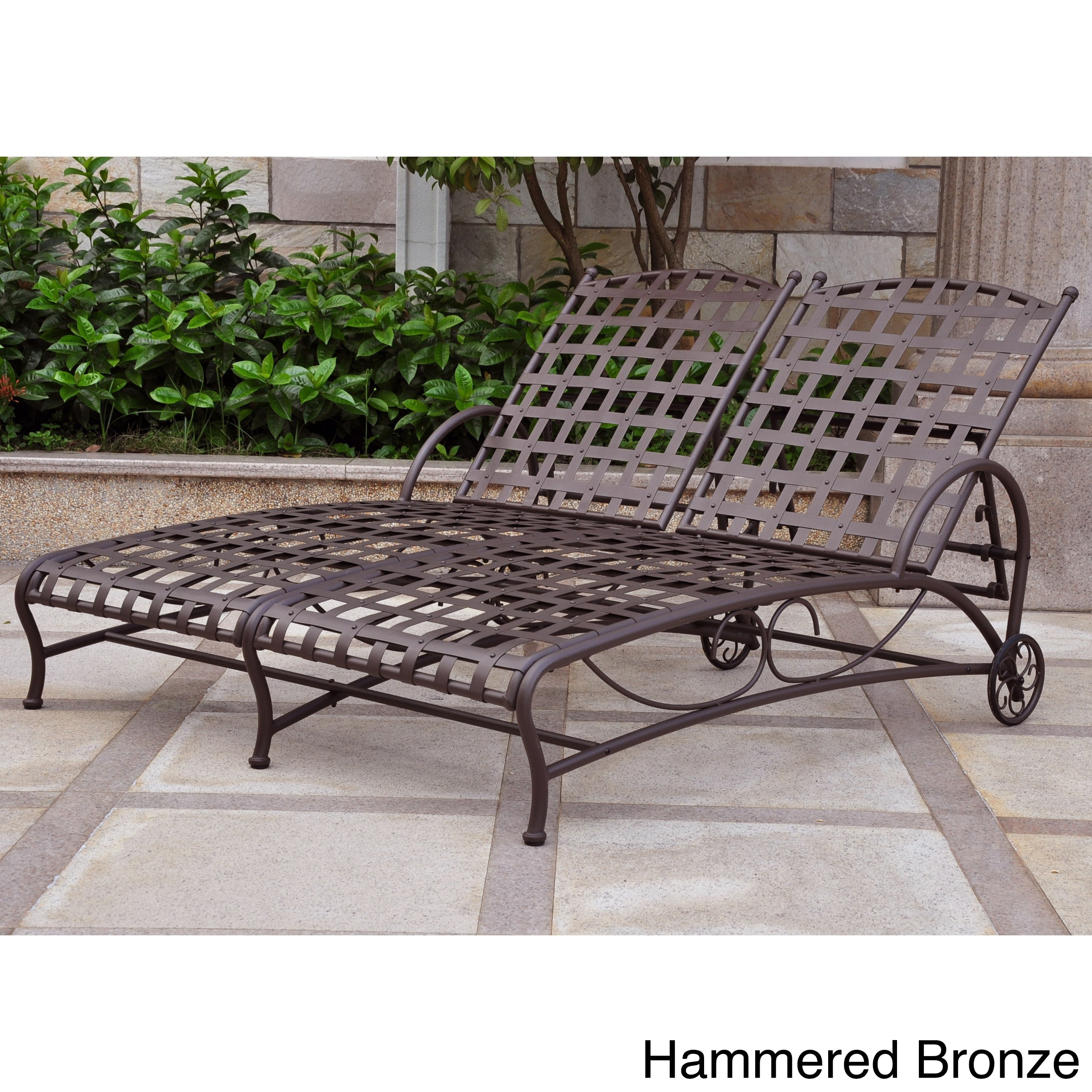 Shop International Caravan Santa Fe Double Multi Position Patio Chaise  Lounge   On Sale   Free Shipping Today   Overstock.com   6167593