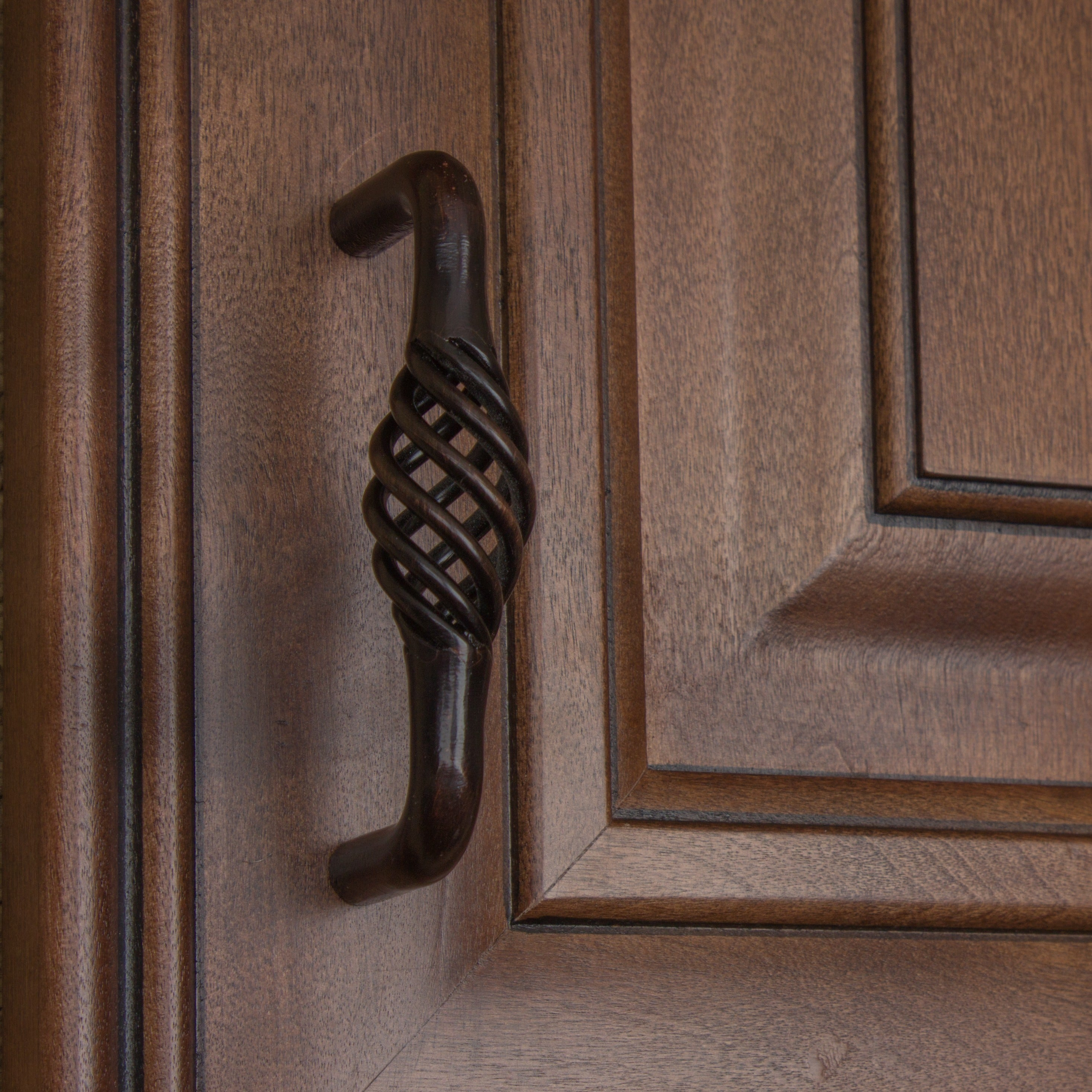 Gliderite 3 Inch Center Twisted Birdcage Cabinet Hardware Pull Oil Rubbed Bronze Pack Of 25 Free Shipping Today 6172921